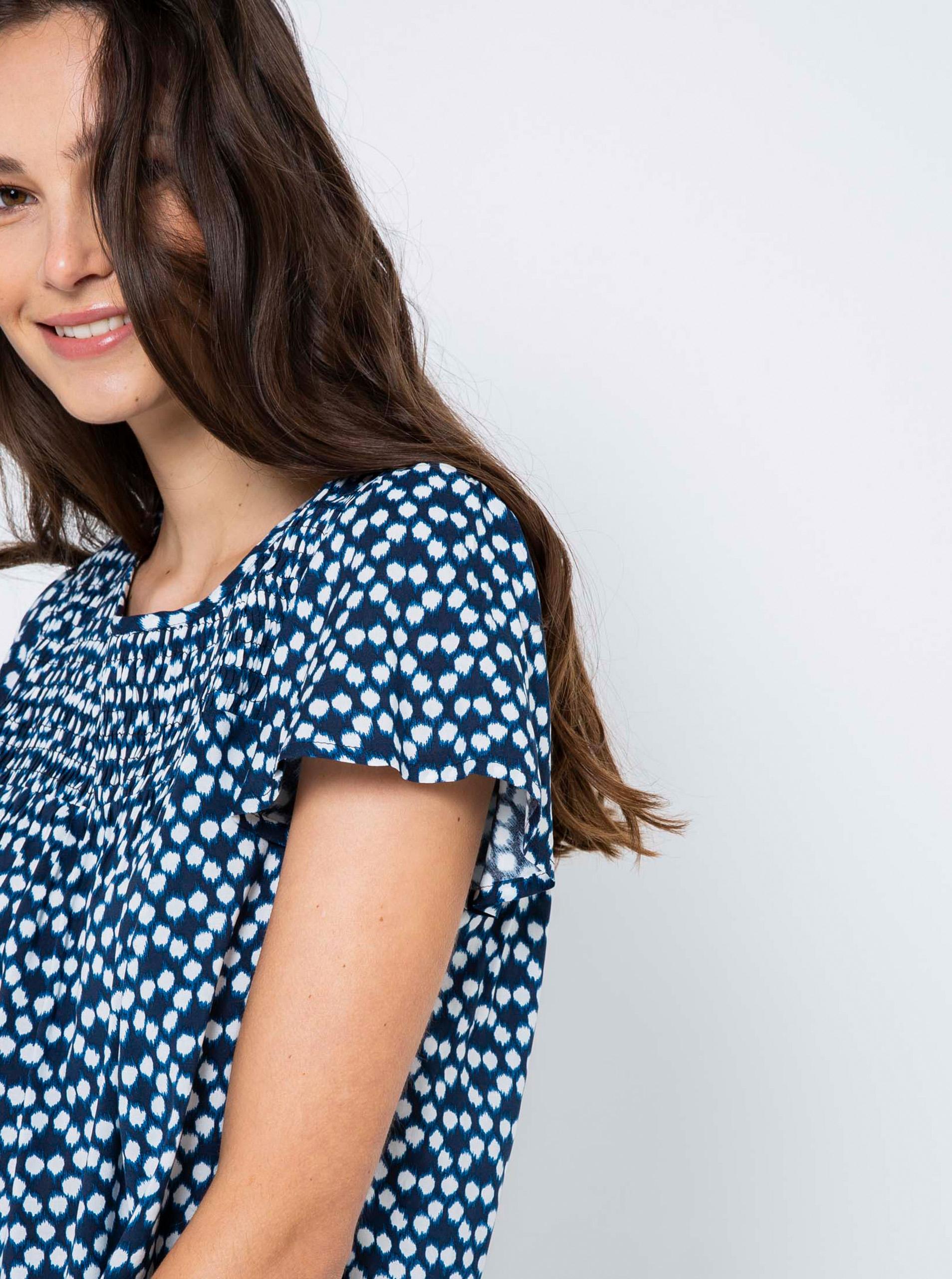 CAMAIEU blue blouse