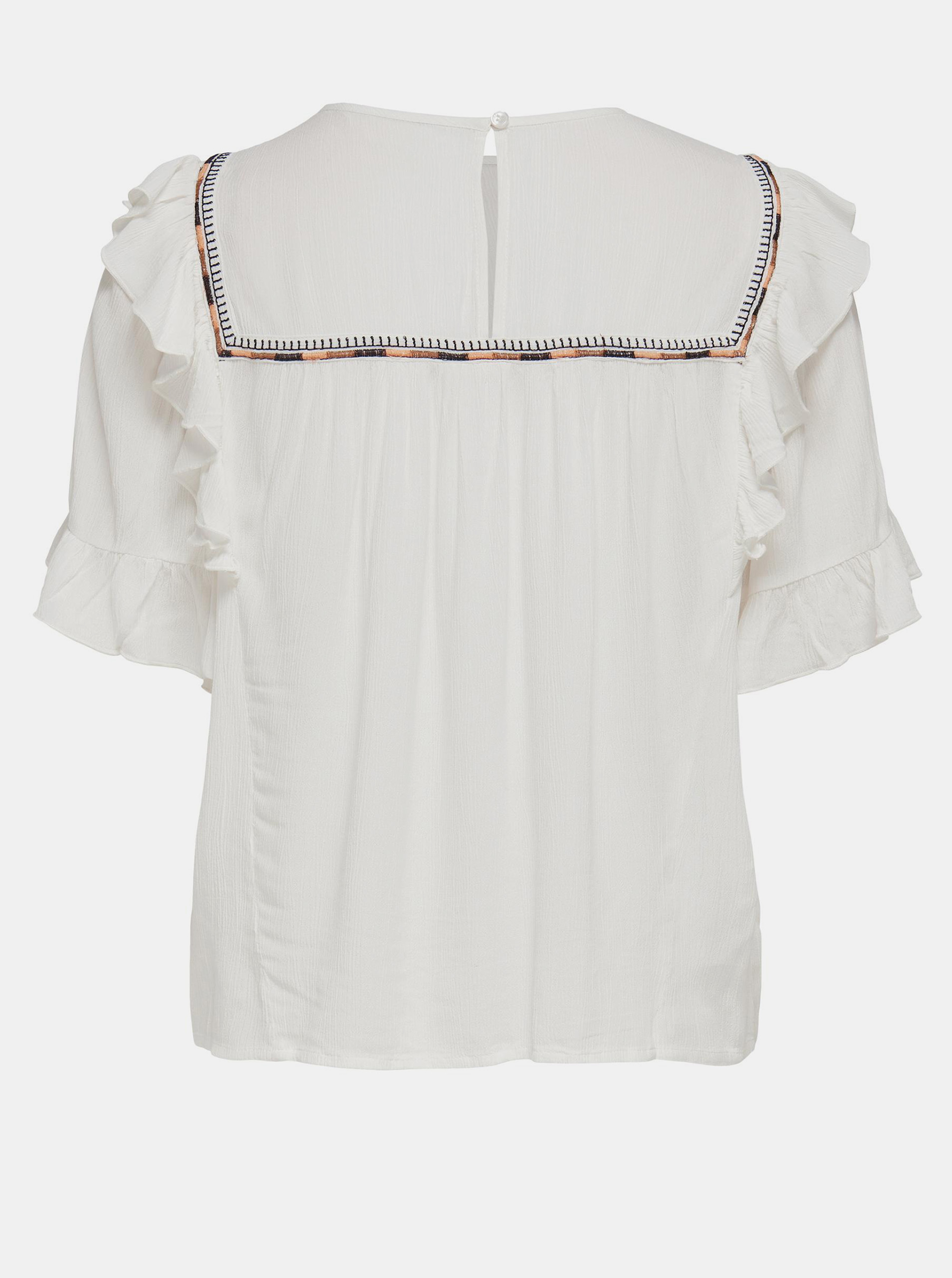 Only cream / cream blouse Mynte