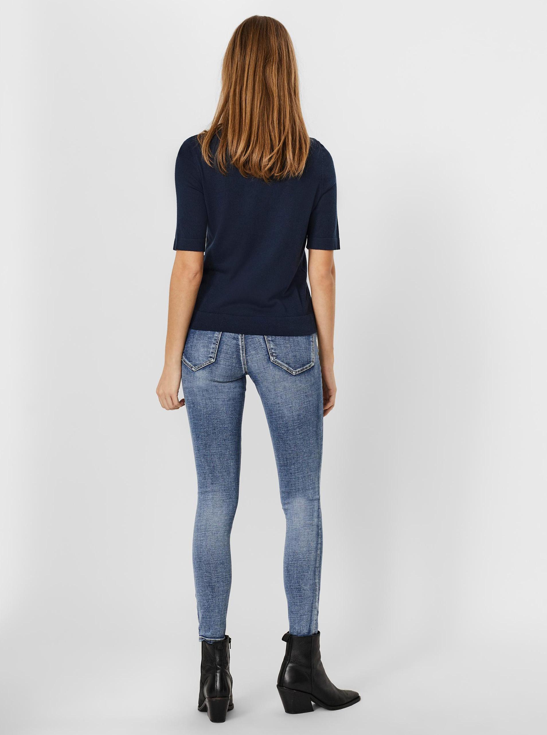 Vero Moda blue T-shirt Silke