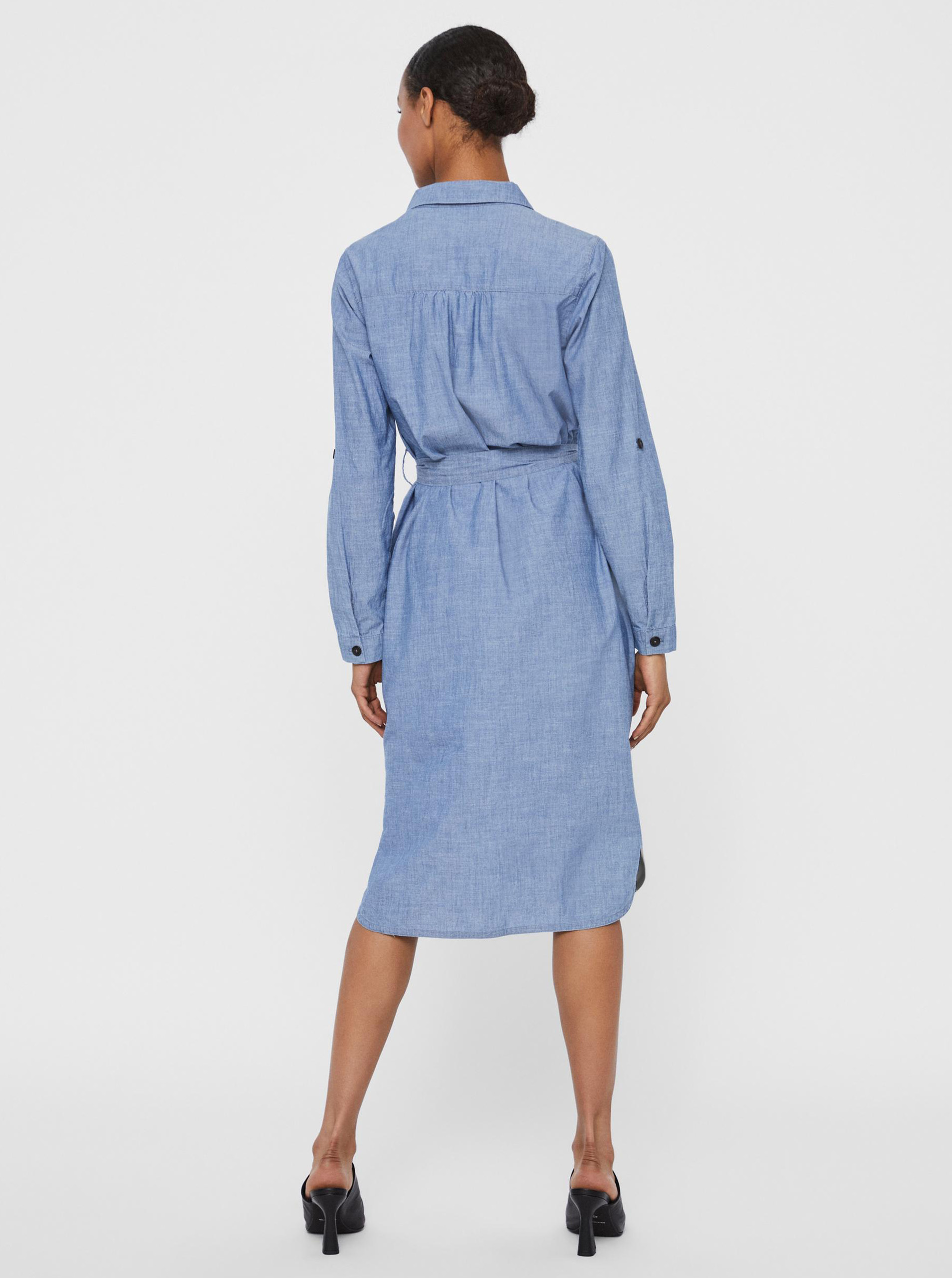 Vero Moda blue shirts dress Akela