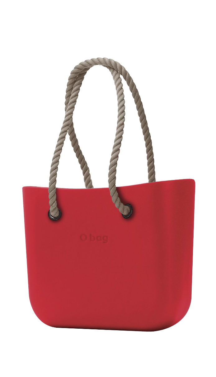 O bag Ciliegia bag with rope handles natural
