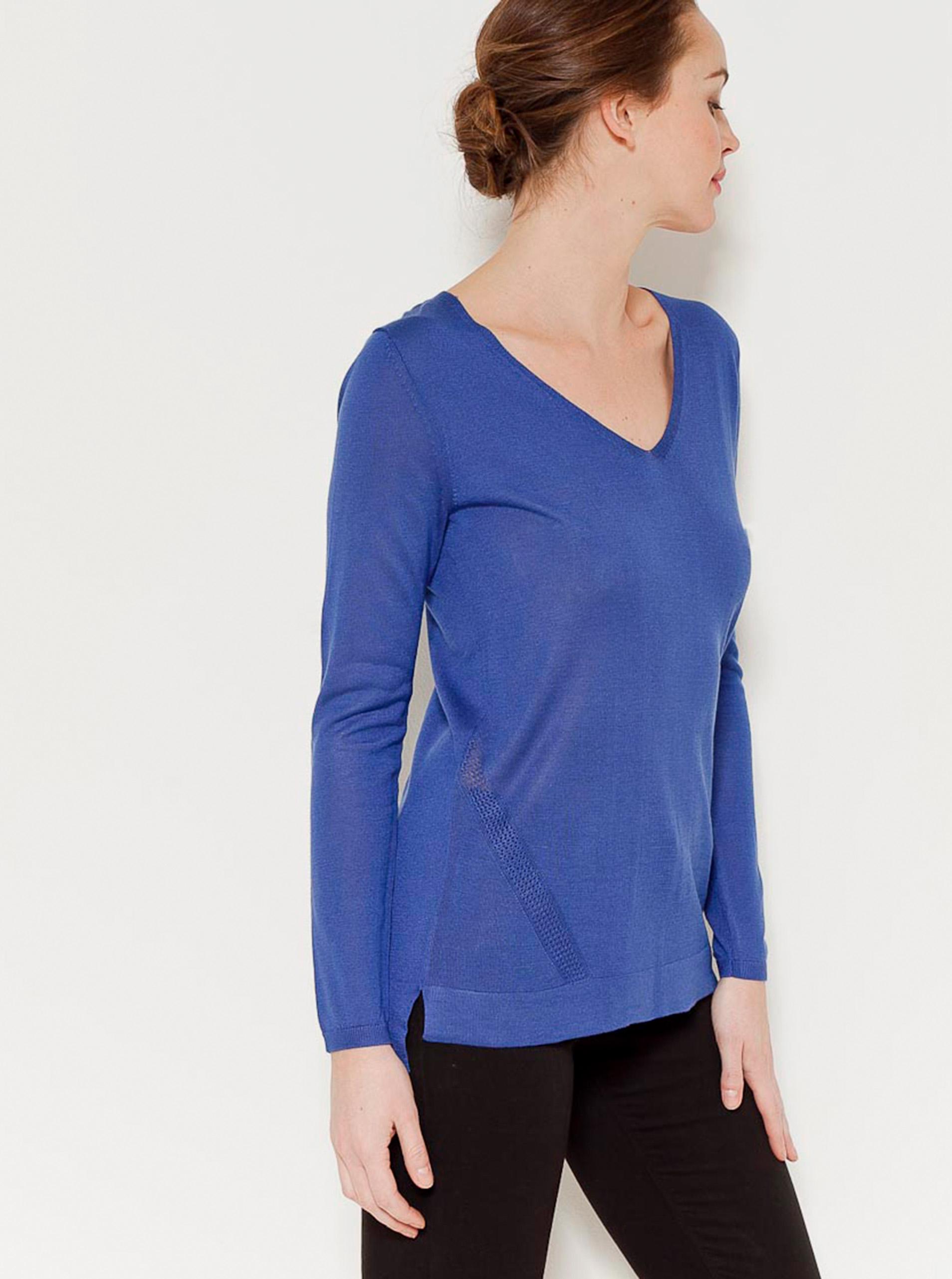 CAMAIEU Women's t-shirt blue