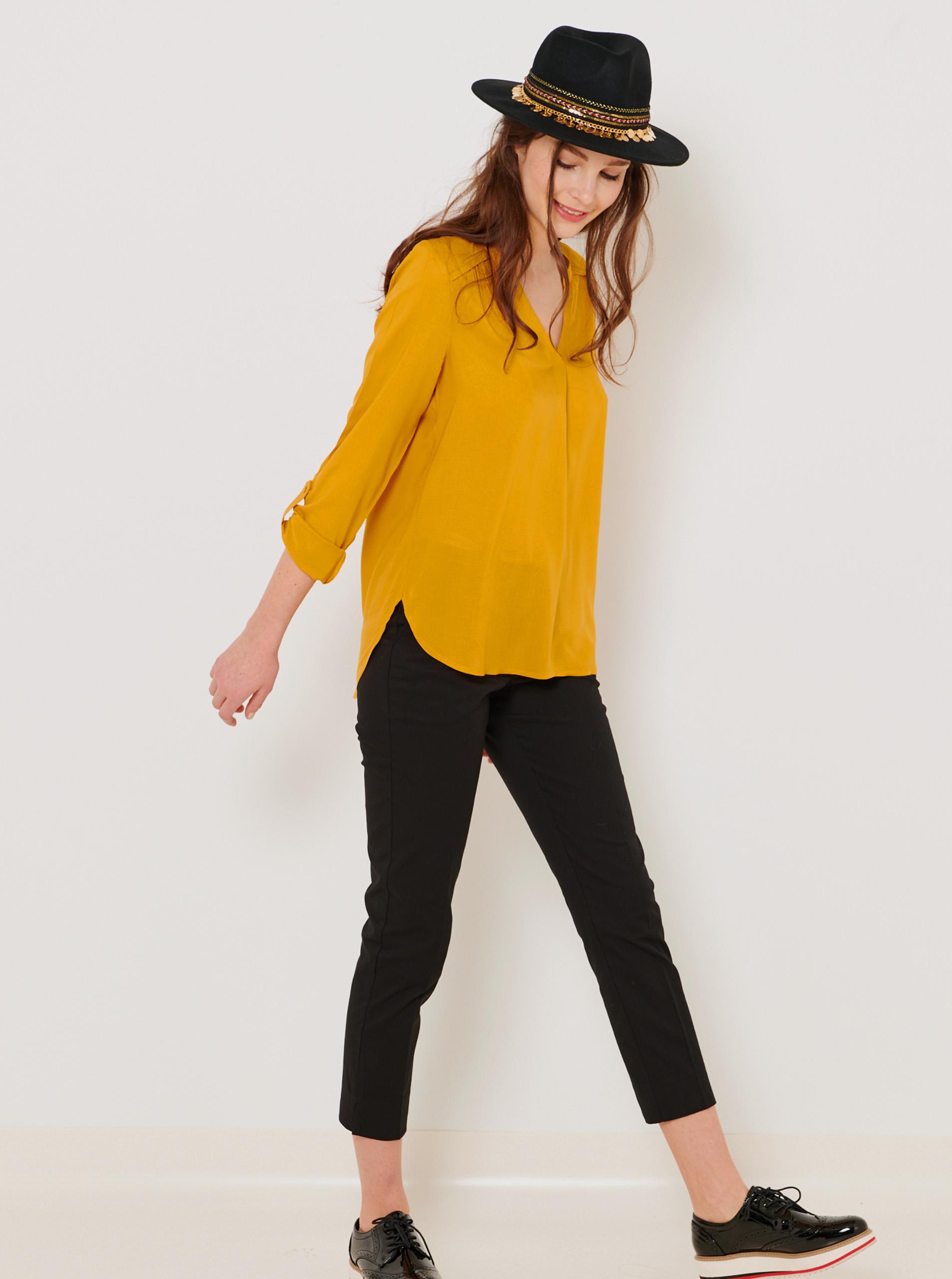 CAMAIEU Women's blouse mustard