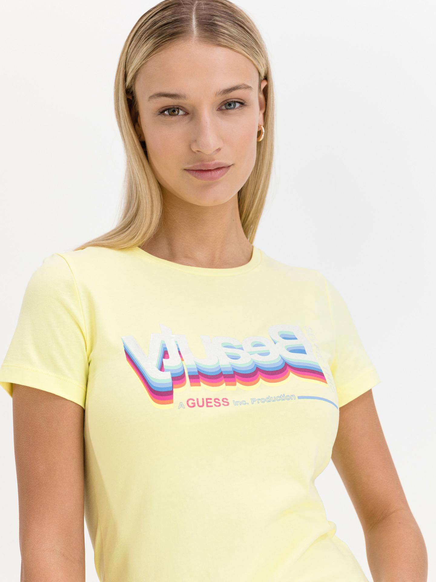 Guess yellow T-shirt Beauty