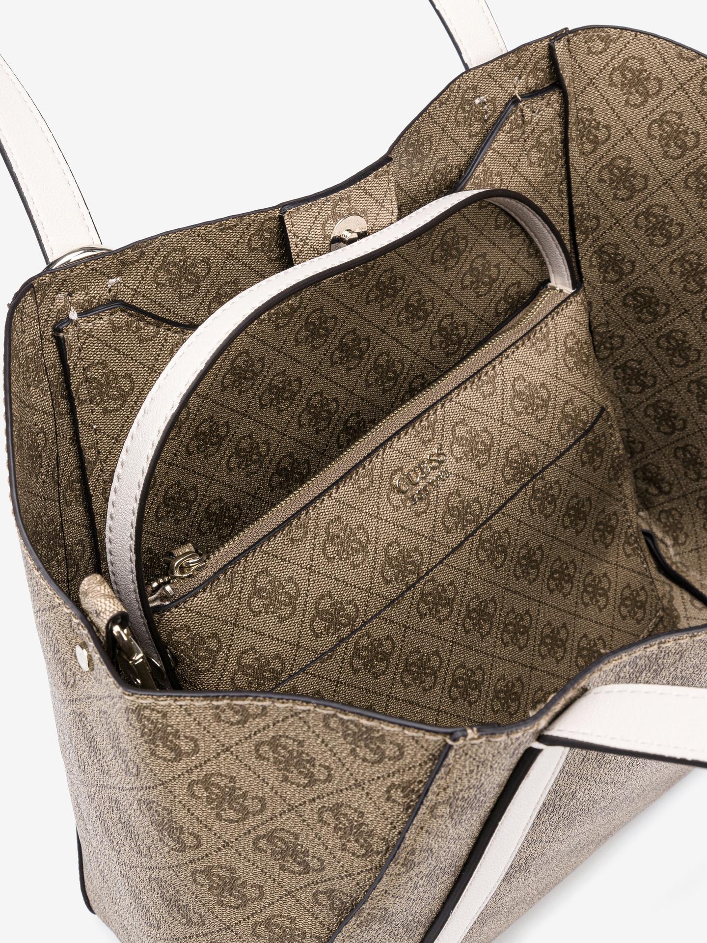 Guess brown 2in1 handbag Naya