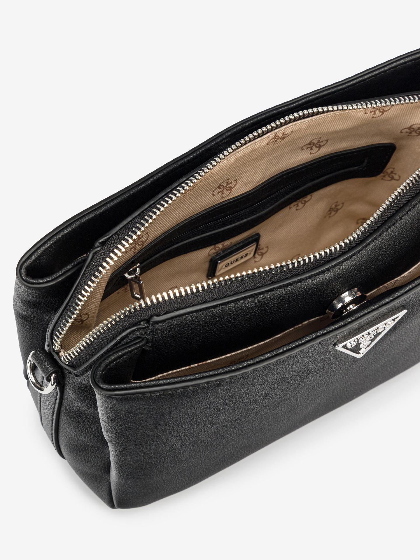 Guess black crossbody handbag Ambrose