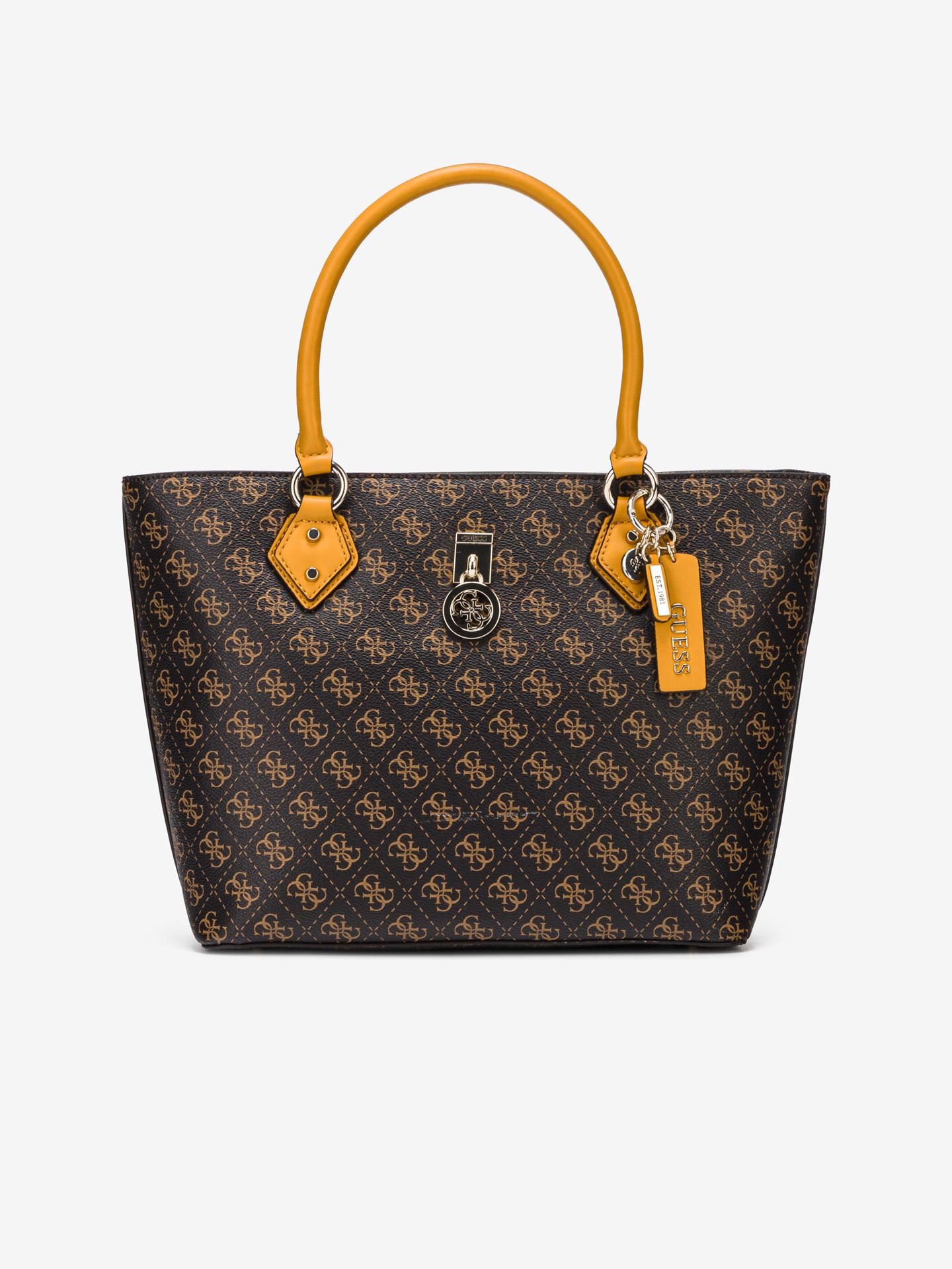 Guess brown handbag Jensen Society