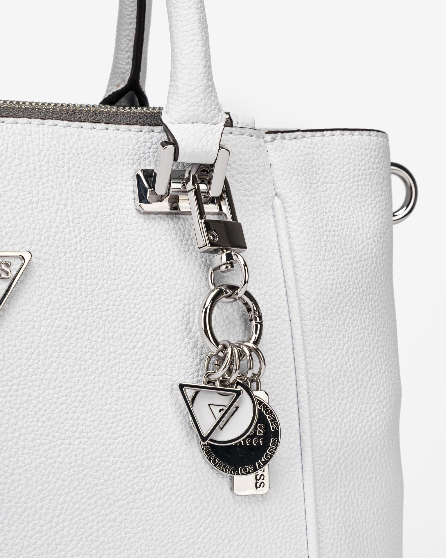Guess white handbag Destiny Status