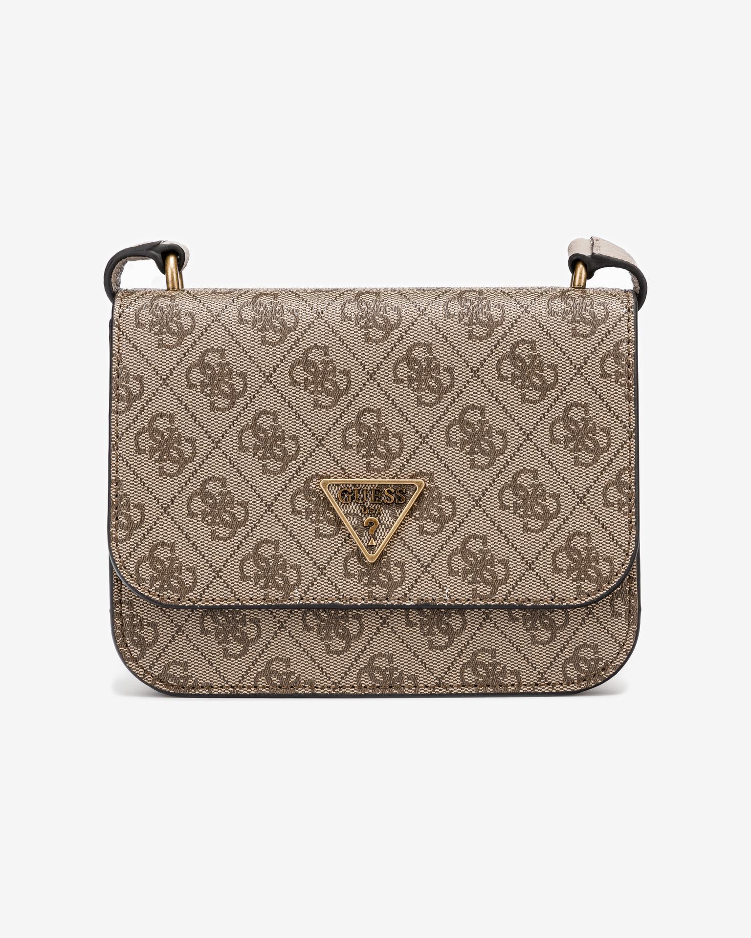 Guess brown crossbody handbag Noelle Mini