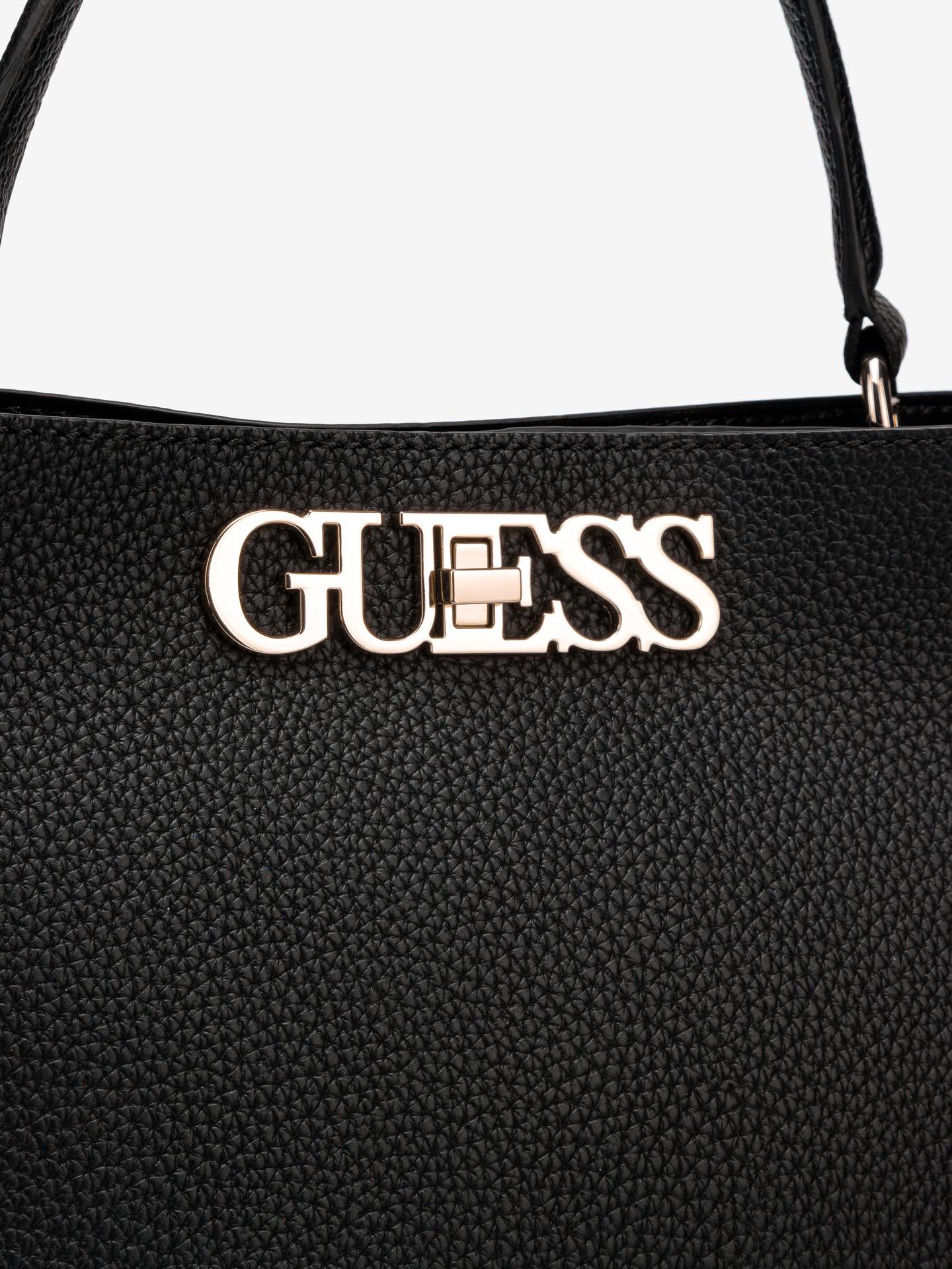 Guess black handbag Uptown Chic Large