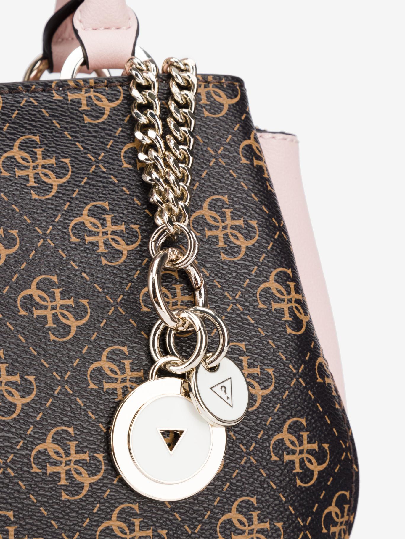 Guess brown handbag Ambrose Small