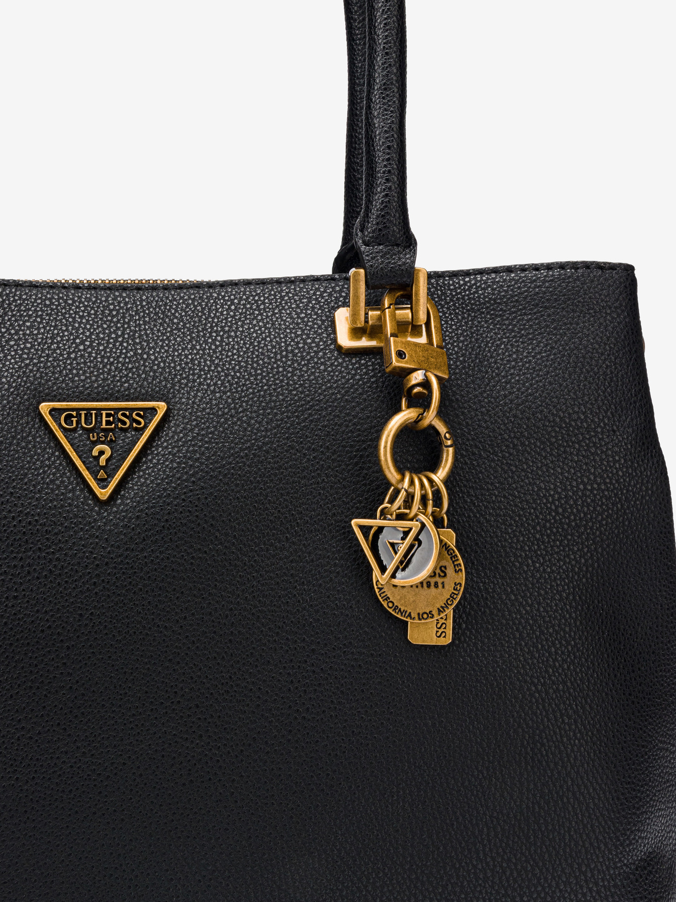 Guess black handbag Destiny Society