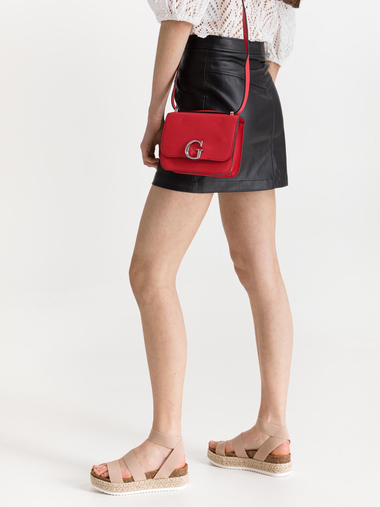 Guess red crossbody handbag Corily