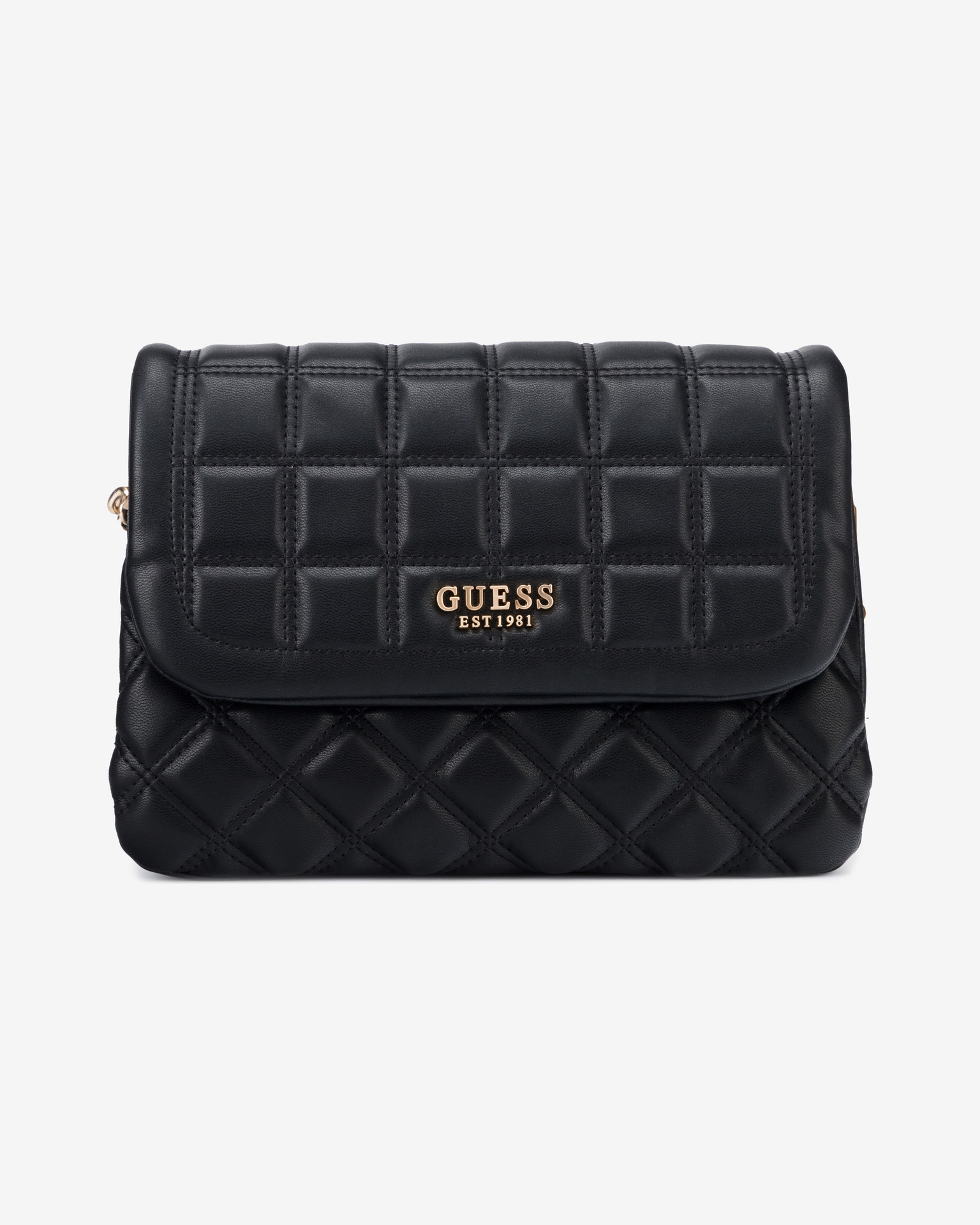 Guess black handbag Kamina