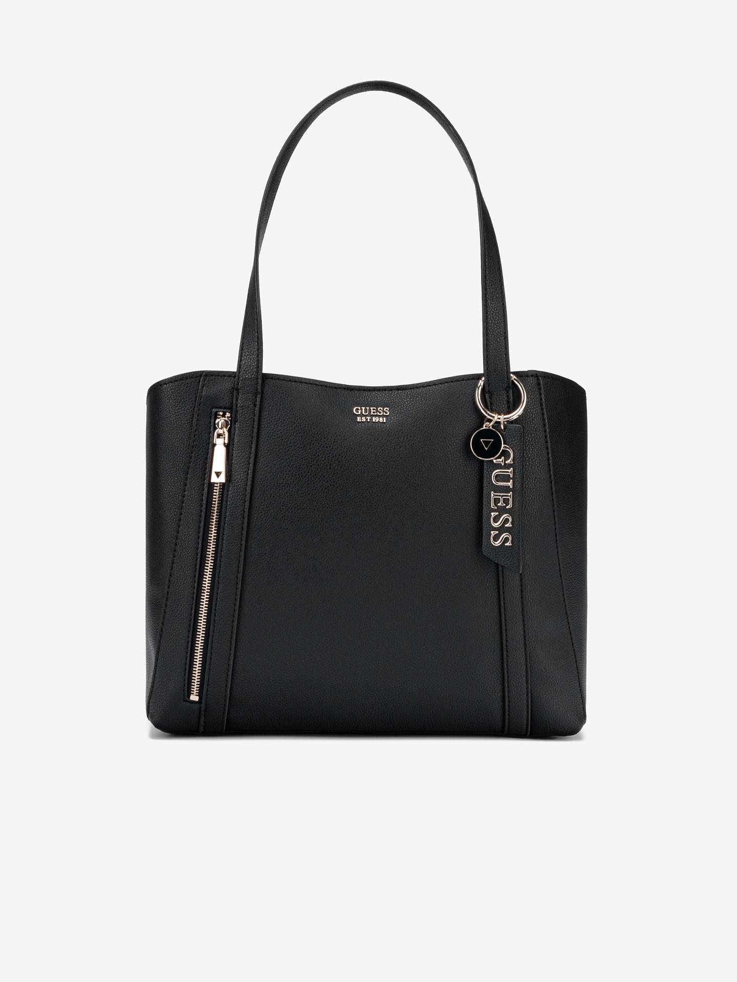 Guess black handbag Naya Front Zip