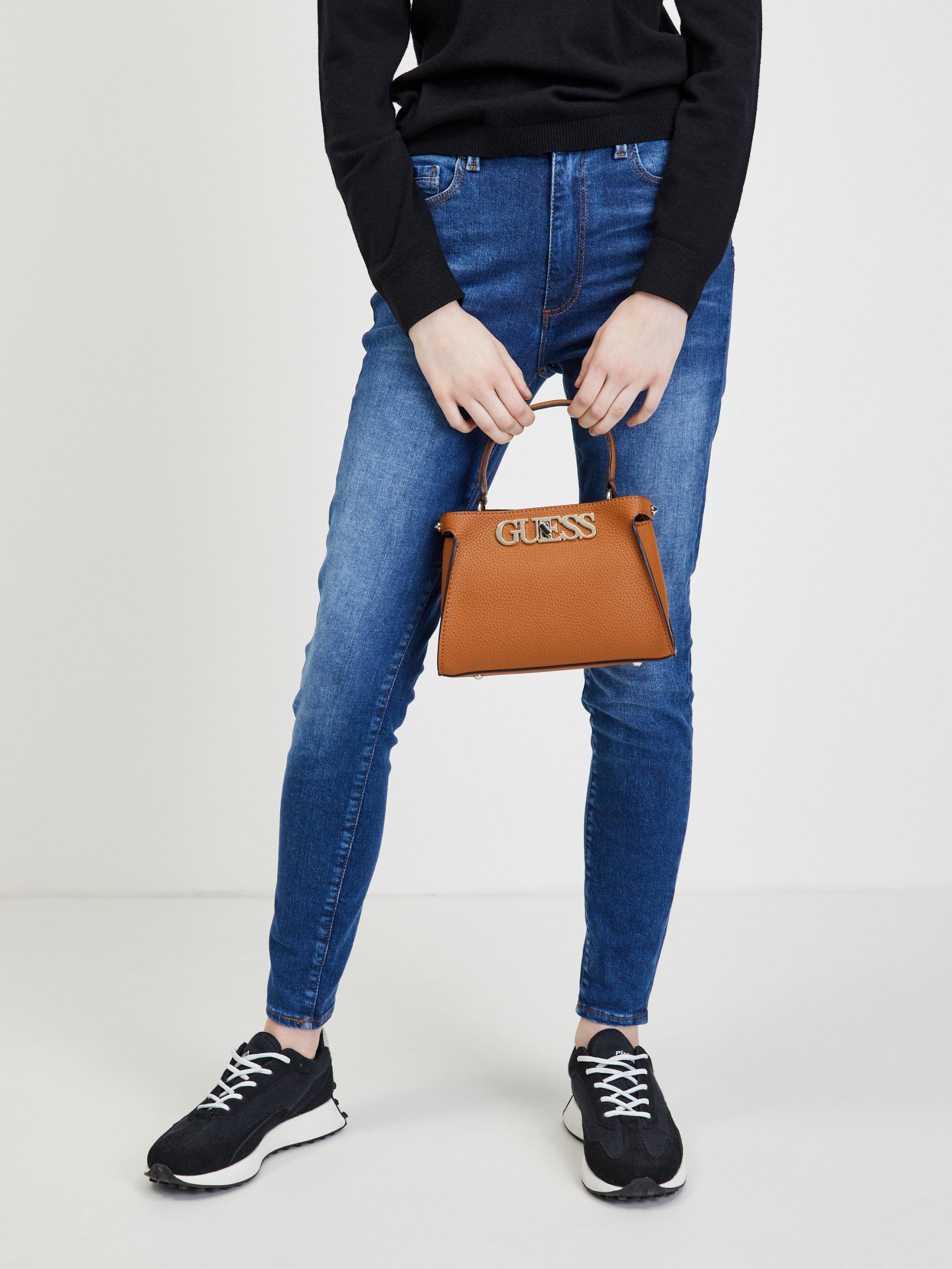 Guess brown handbag Uptown Chic Small