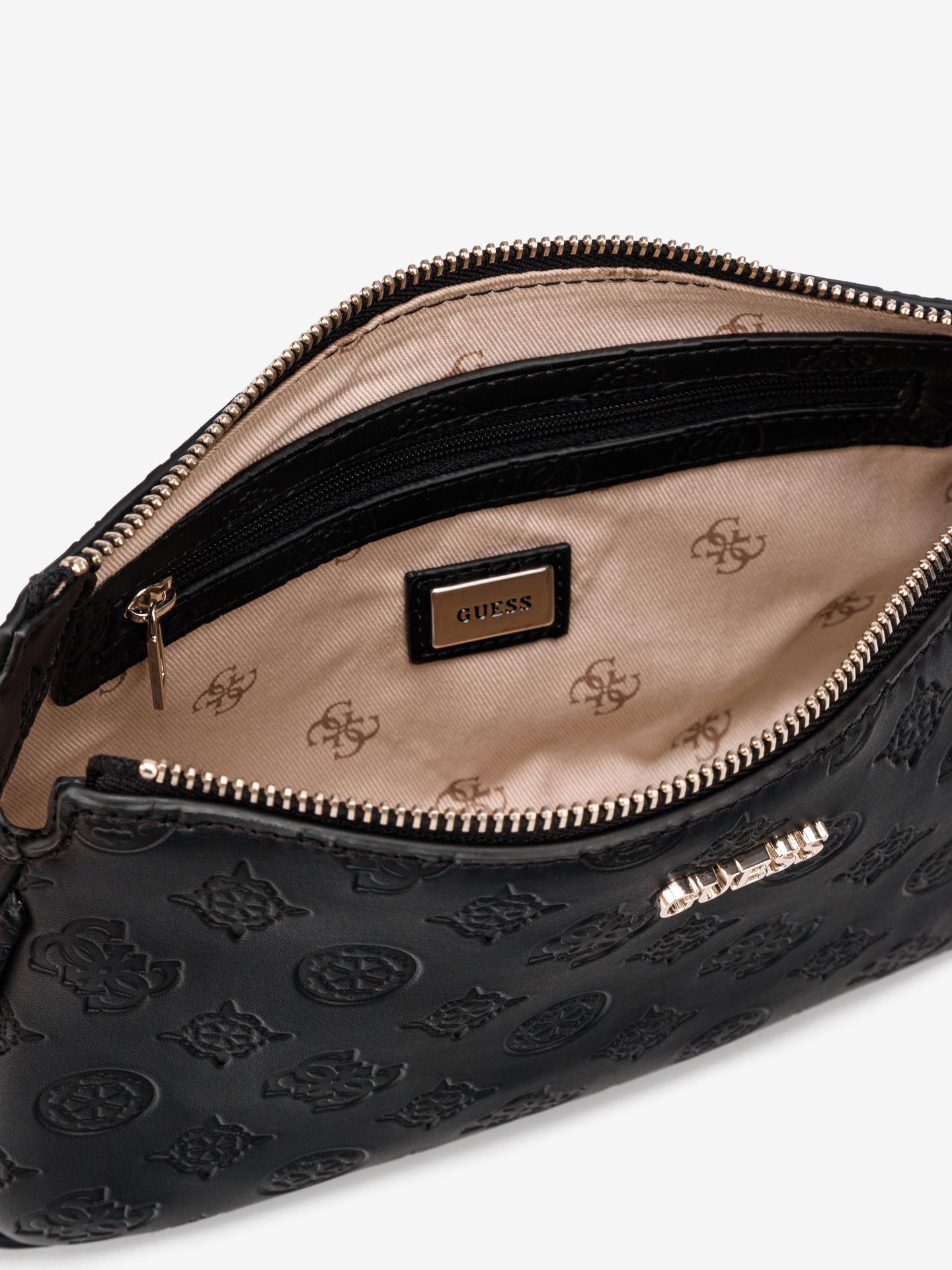 Guess black crossbody handbag Dyanne Double