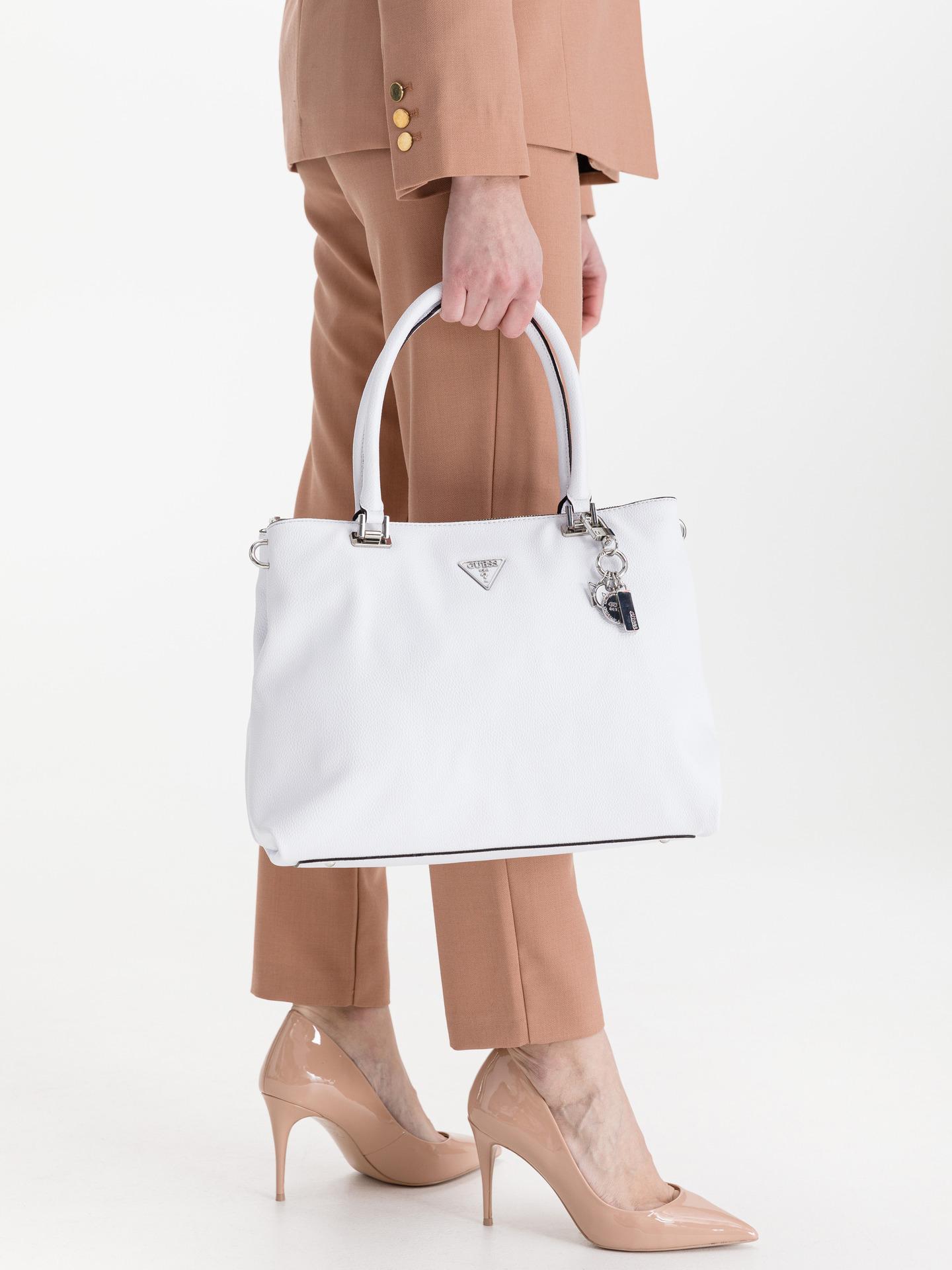 Guess white handbag Destiny Society