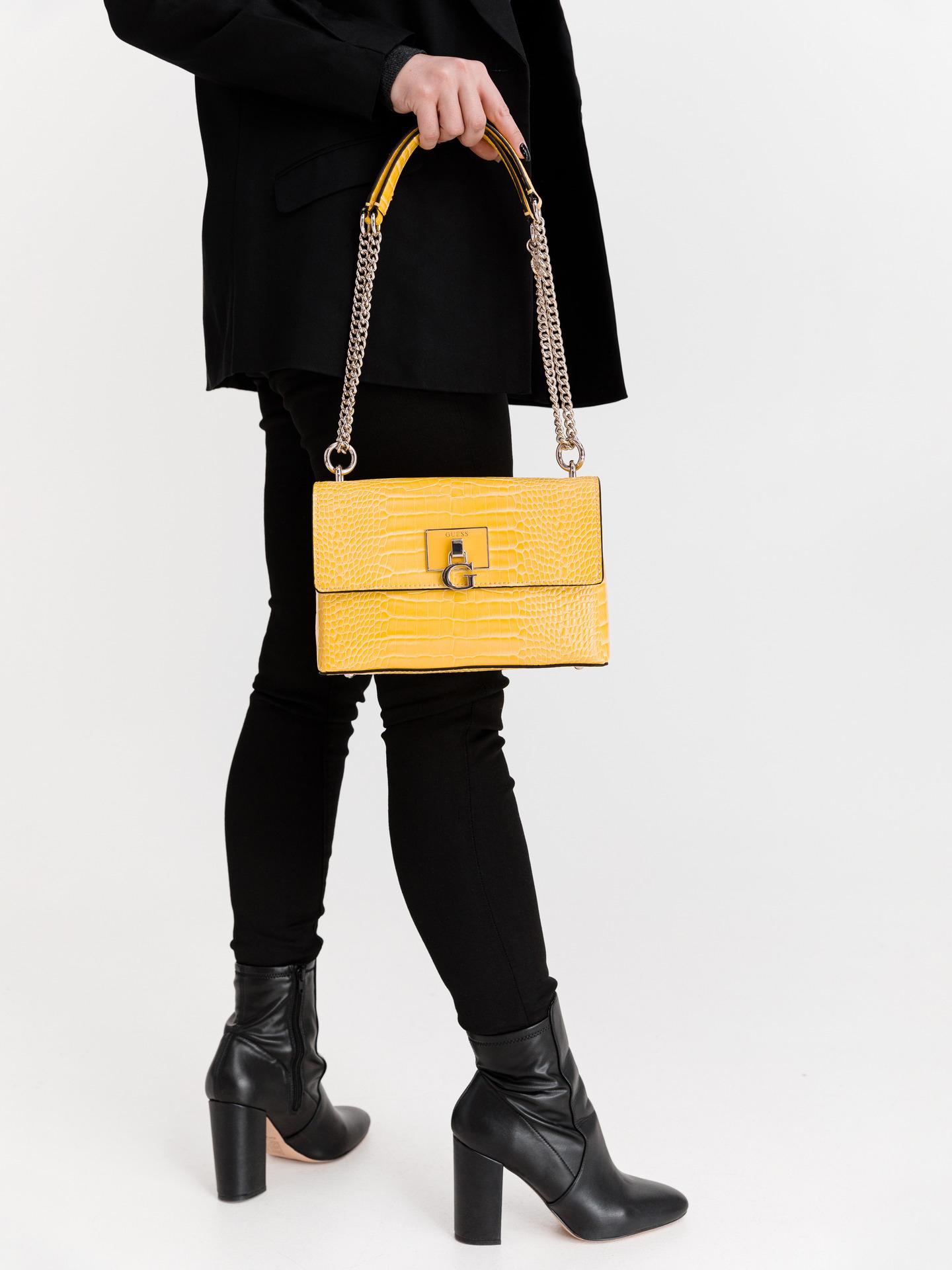 Guess yellow crossbody handbag Carabel