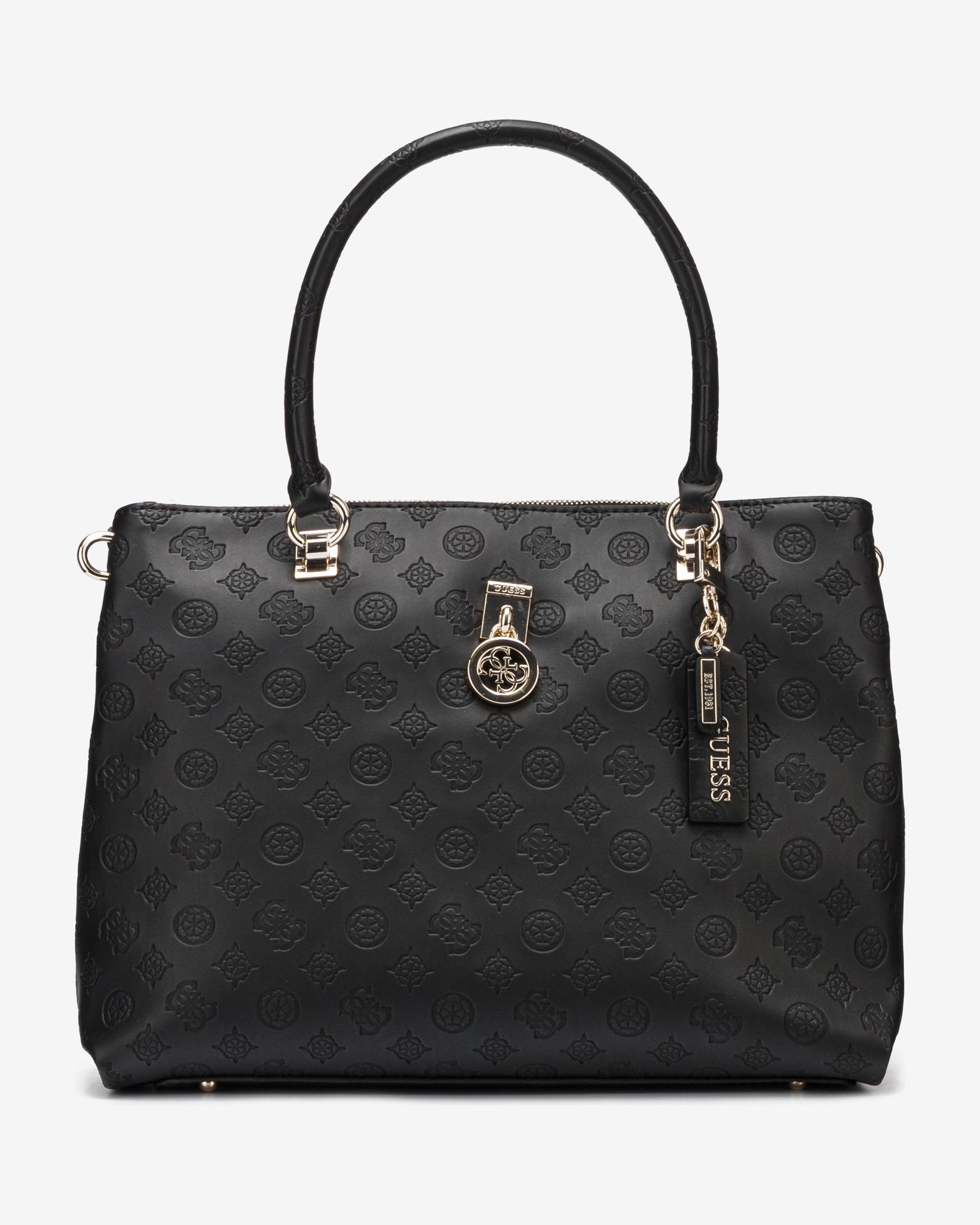 Guess black handbag Ninnette Satus Carryall