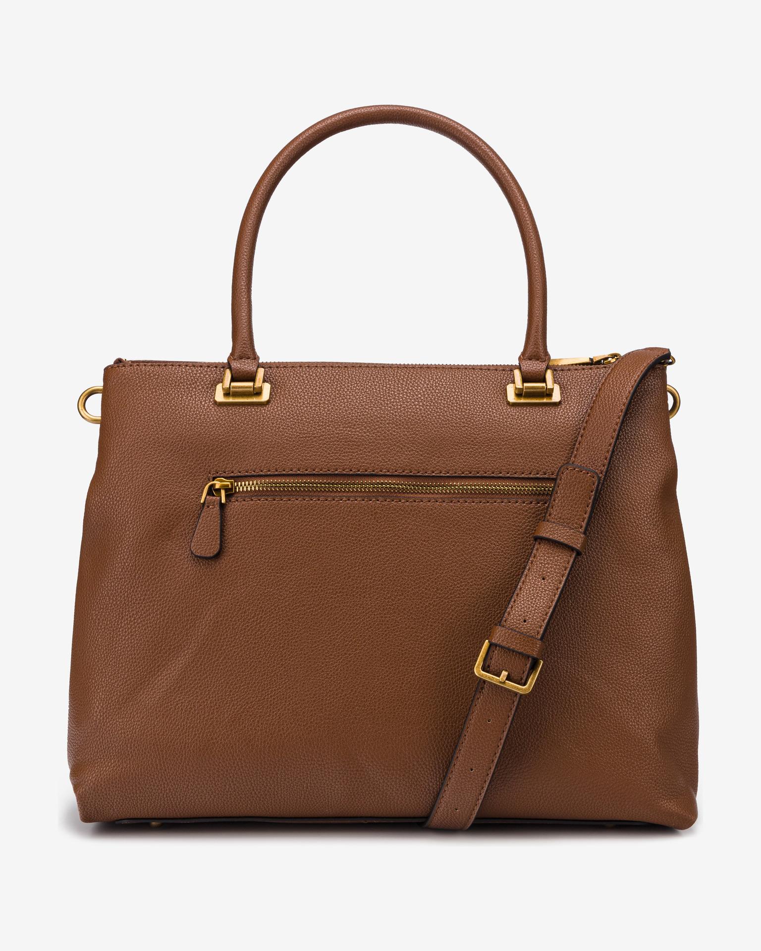 Guess brown handbag Destiny Society
