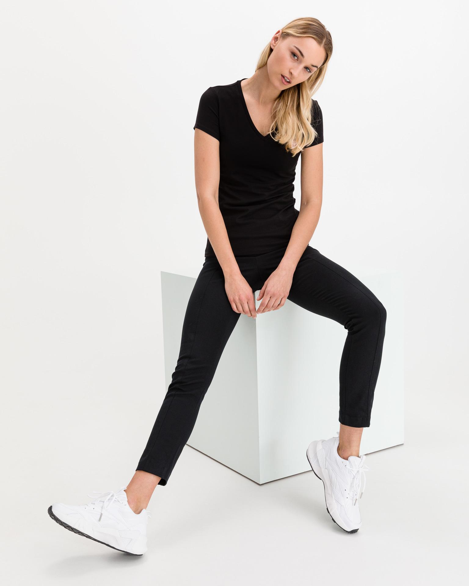 Guess black T-shirt Mini Triangle