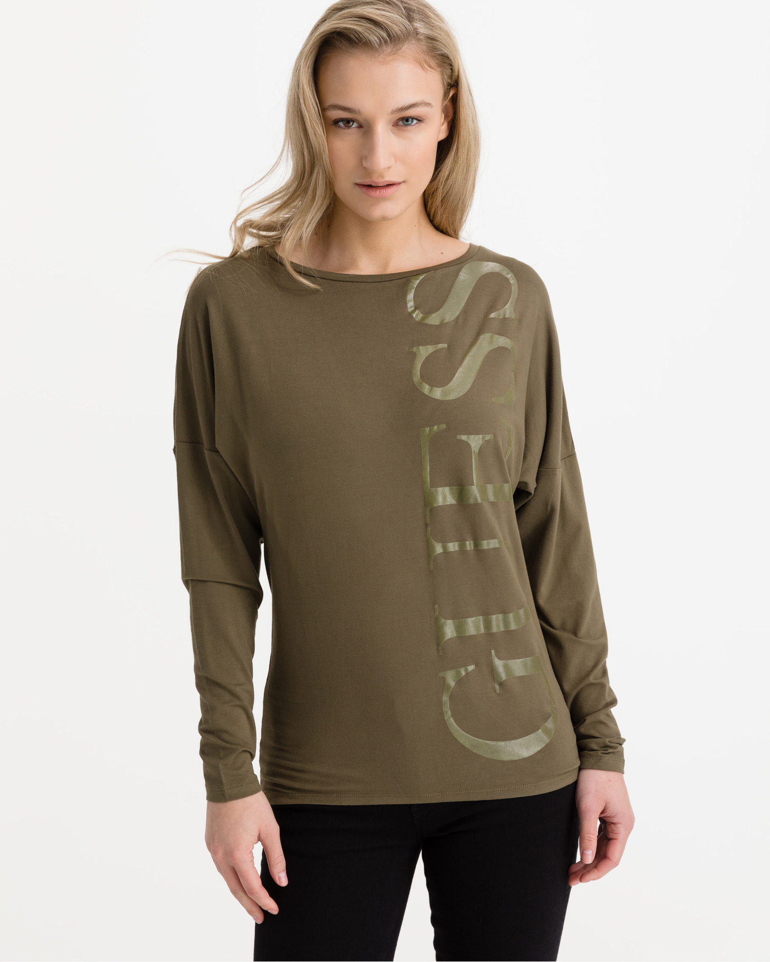 Guess green T-shirt Karolina