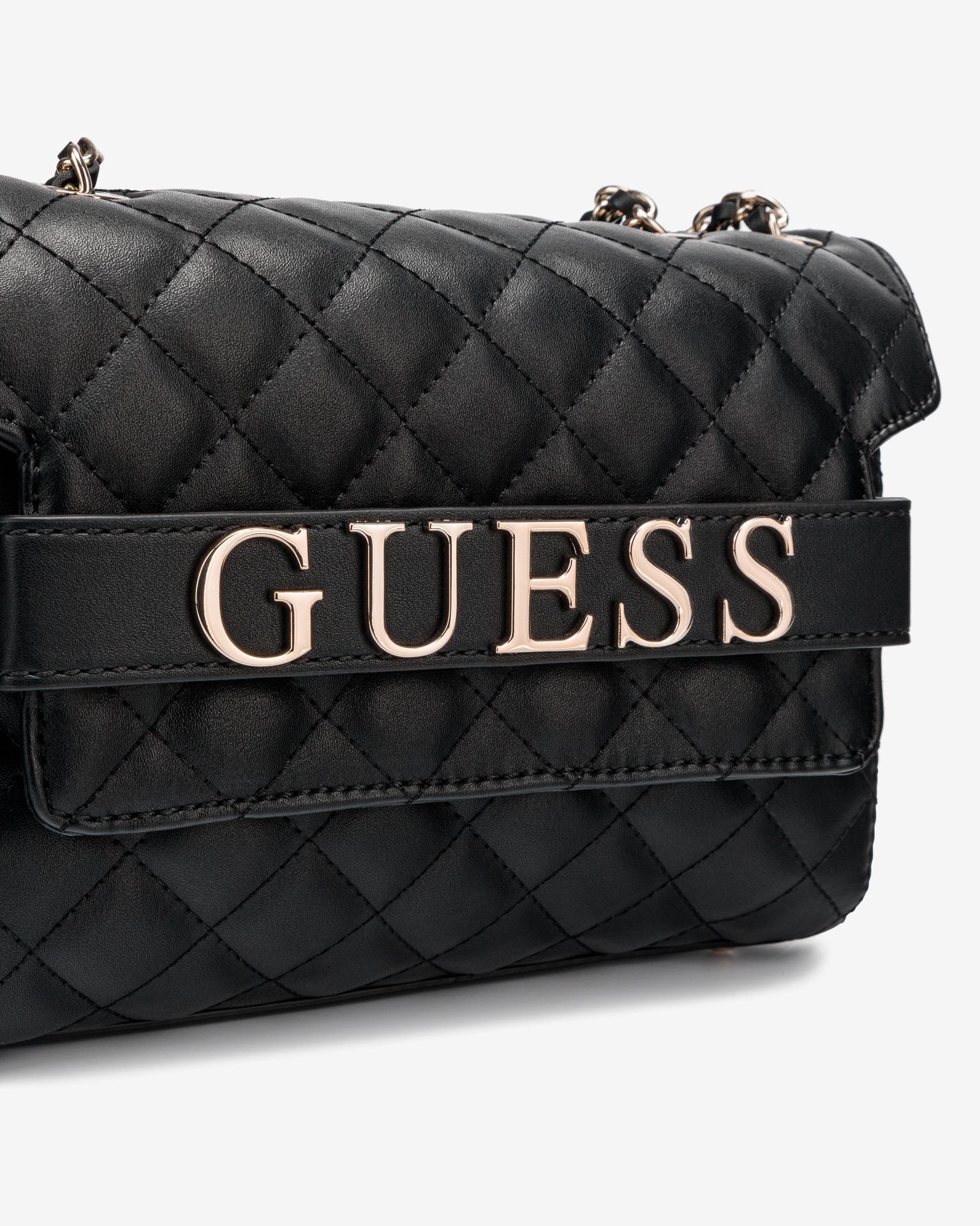 Guess black crossbody handbag Illy Convertibe