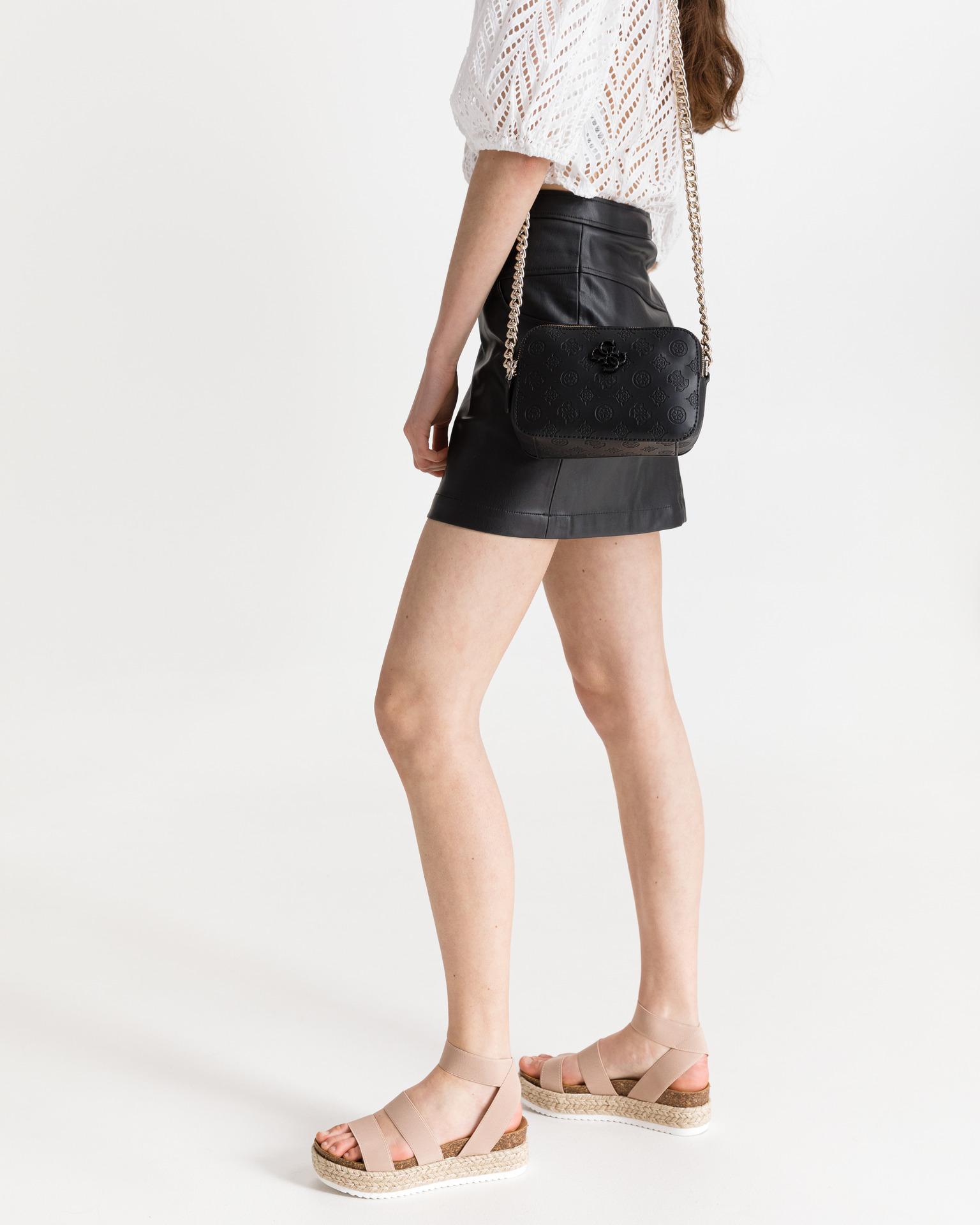 Guess black crossbody handbag Noelle
