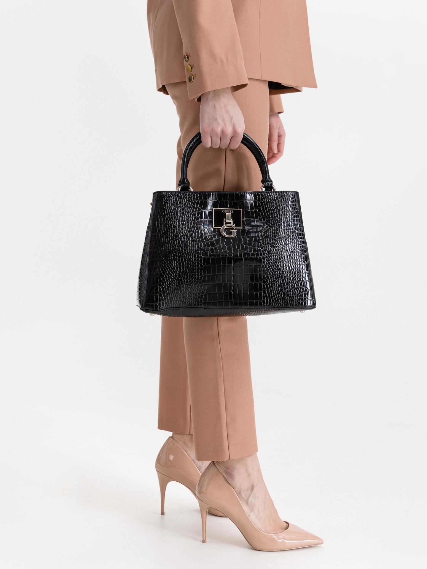 Guess black handbag Carabel
