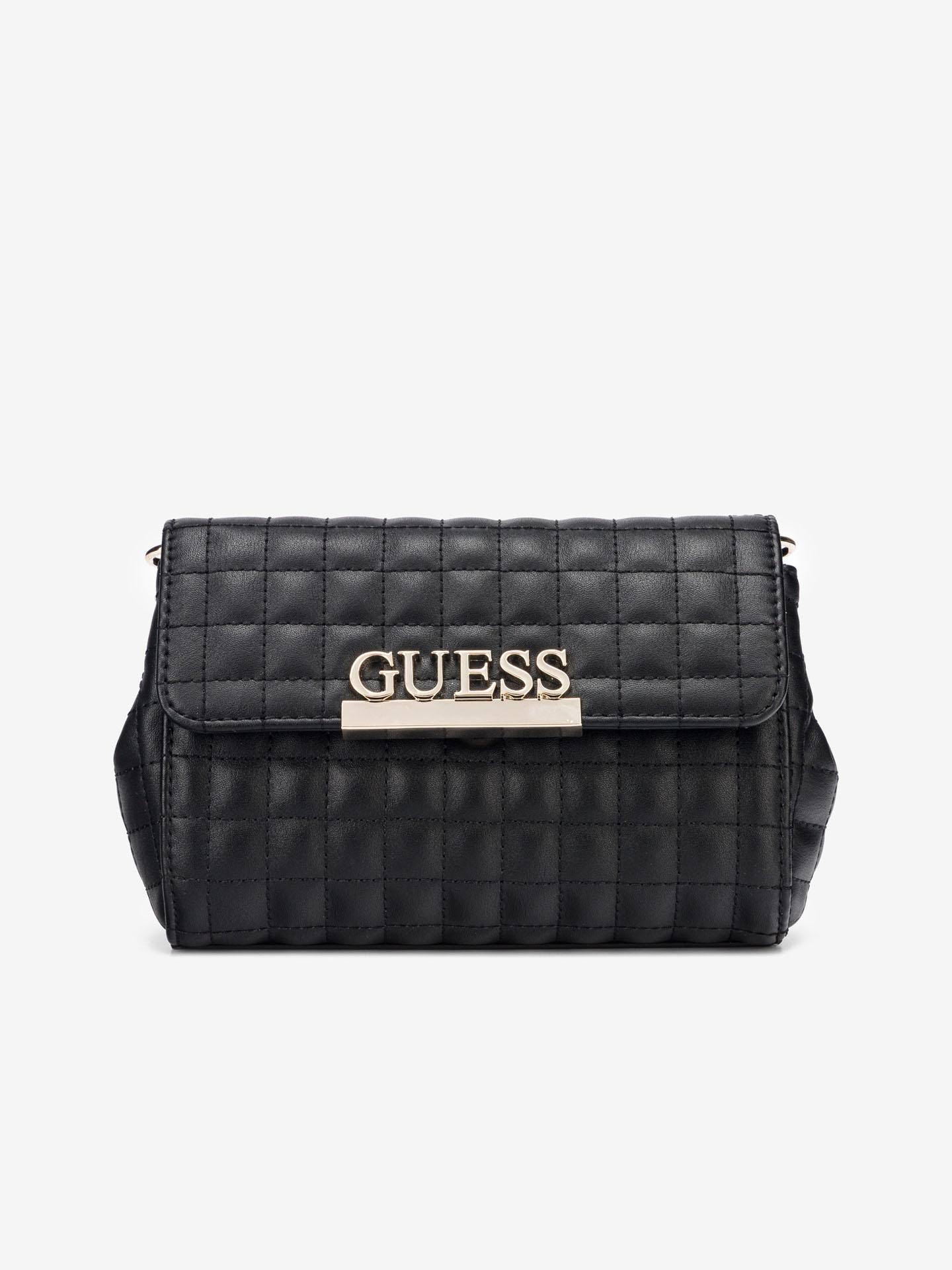Guess black bum bag Matrix