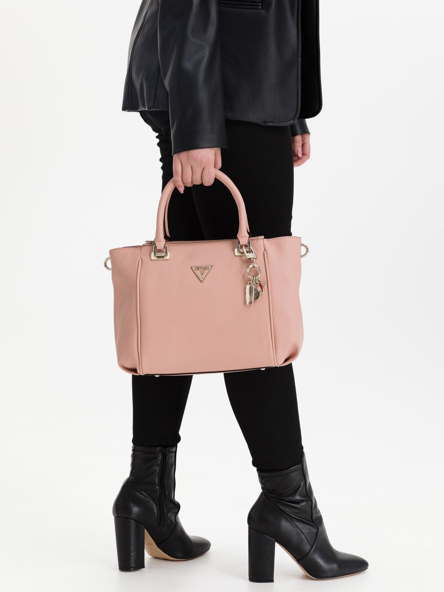 Guess pink handbag Destiny Status