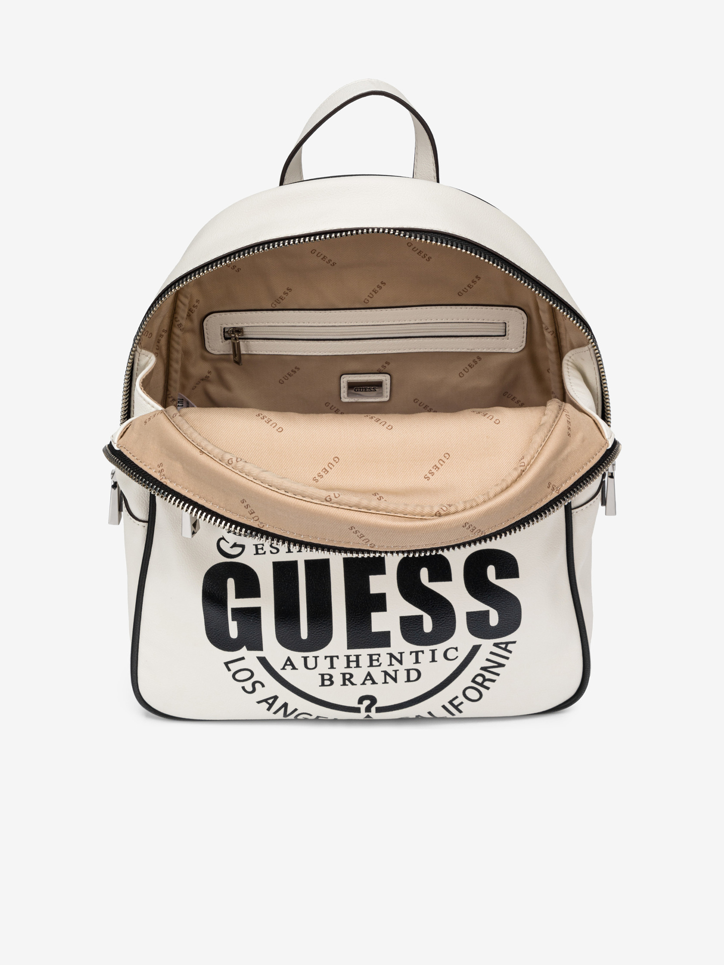 Guess white backpack Kalipso Large