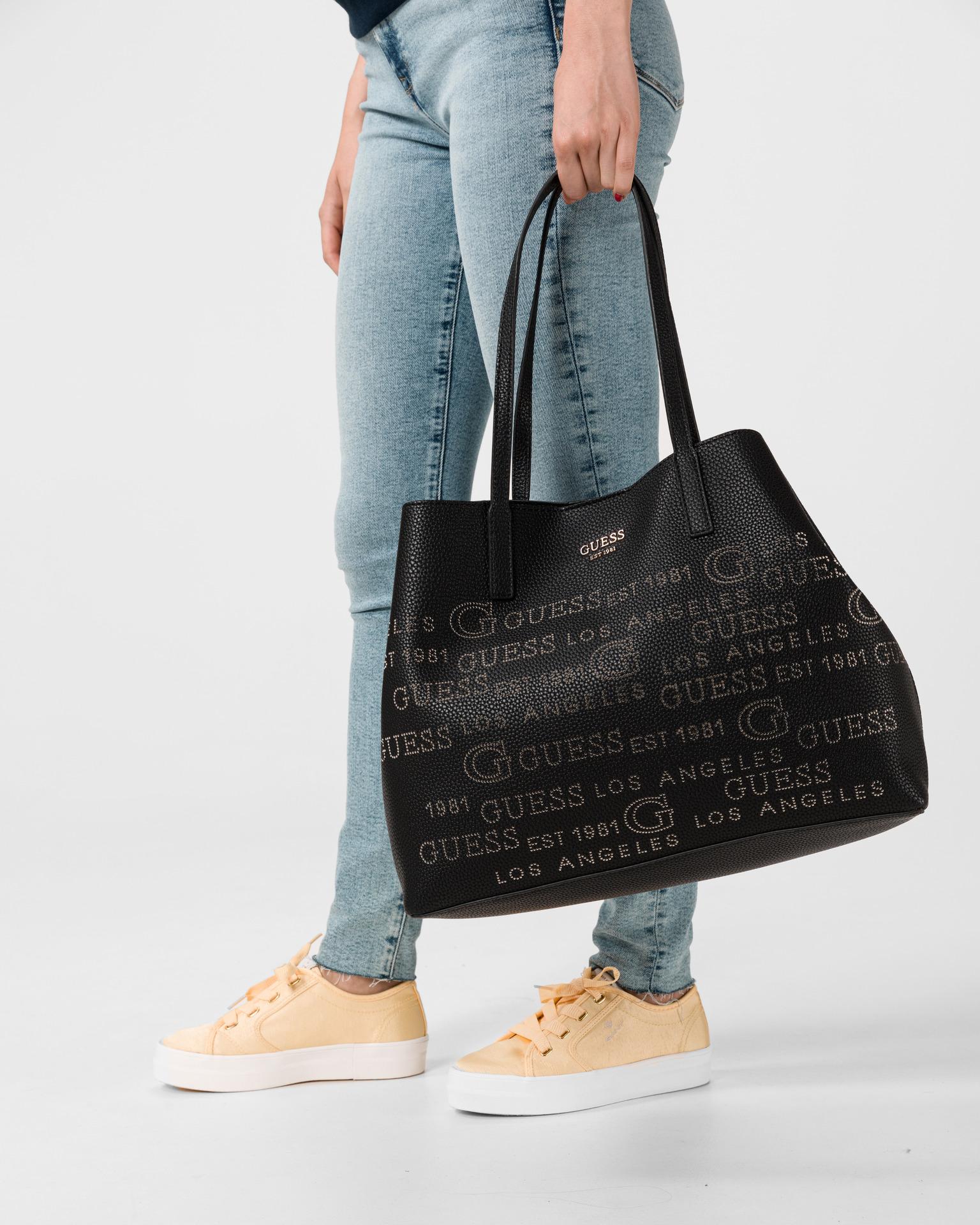 Guess black handbag Vikky Large