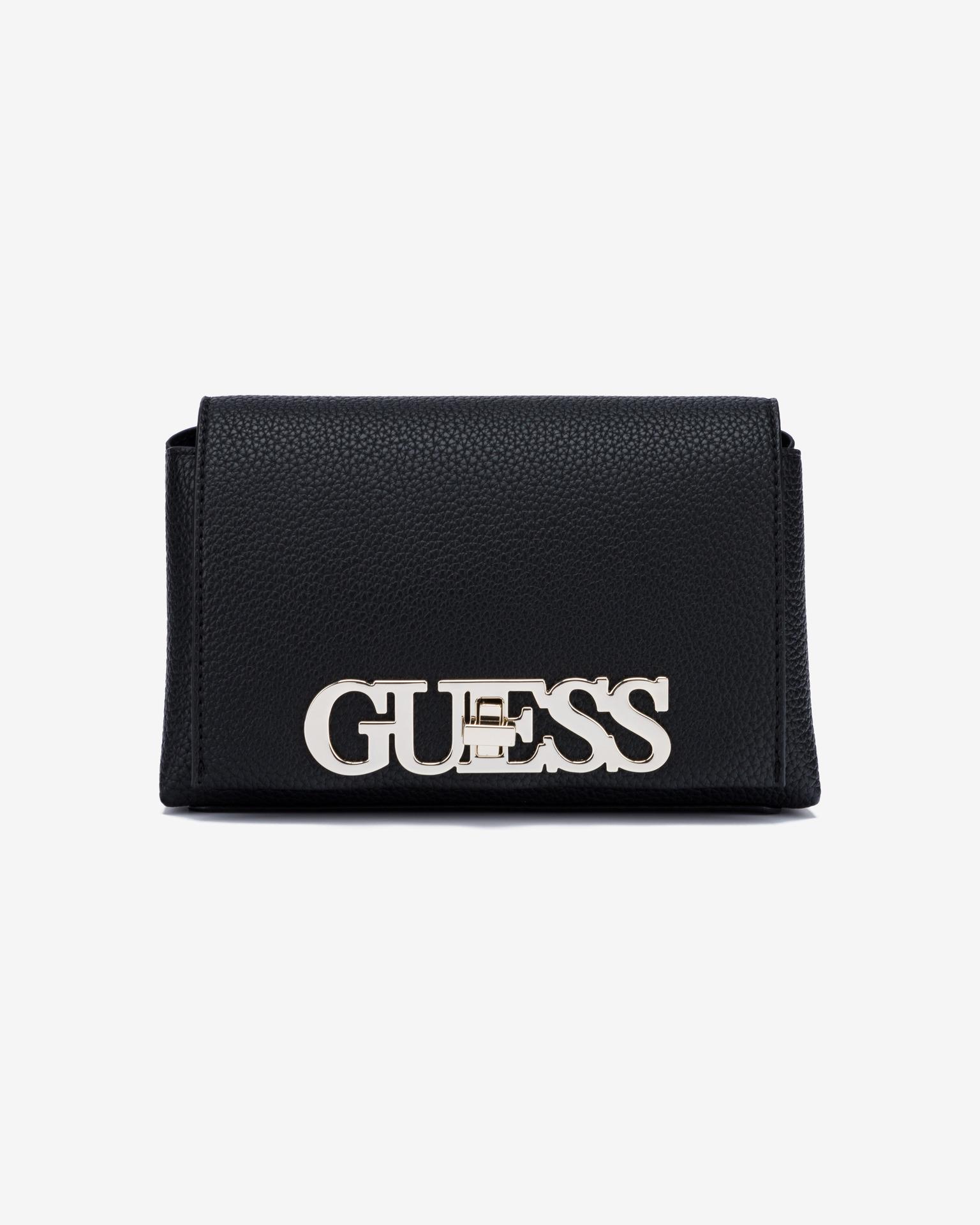 Guess black crossbody handbag Uptown Chic Mini