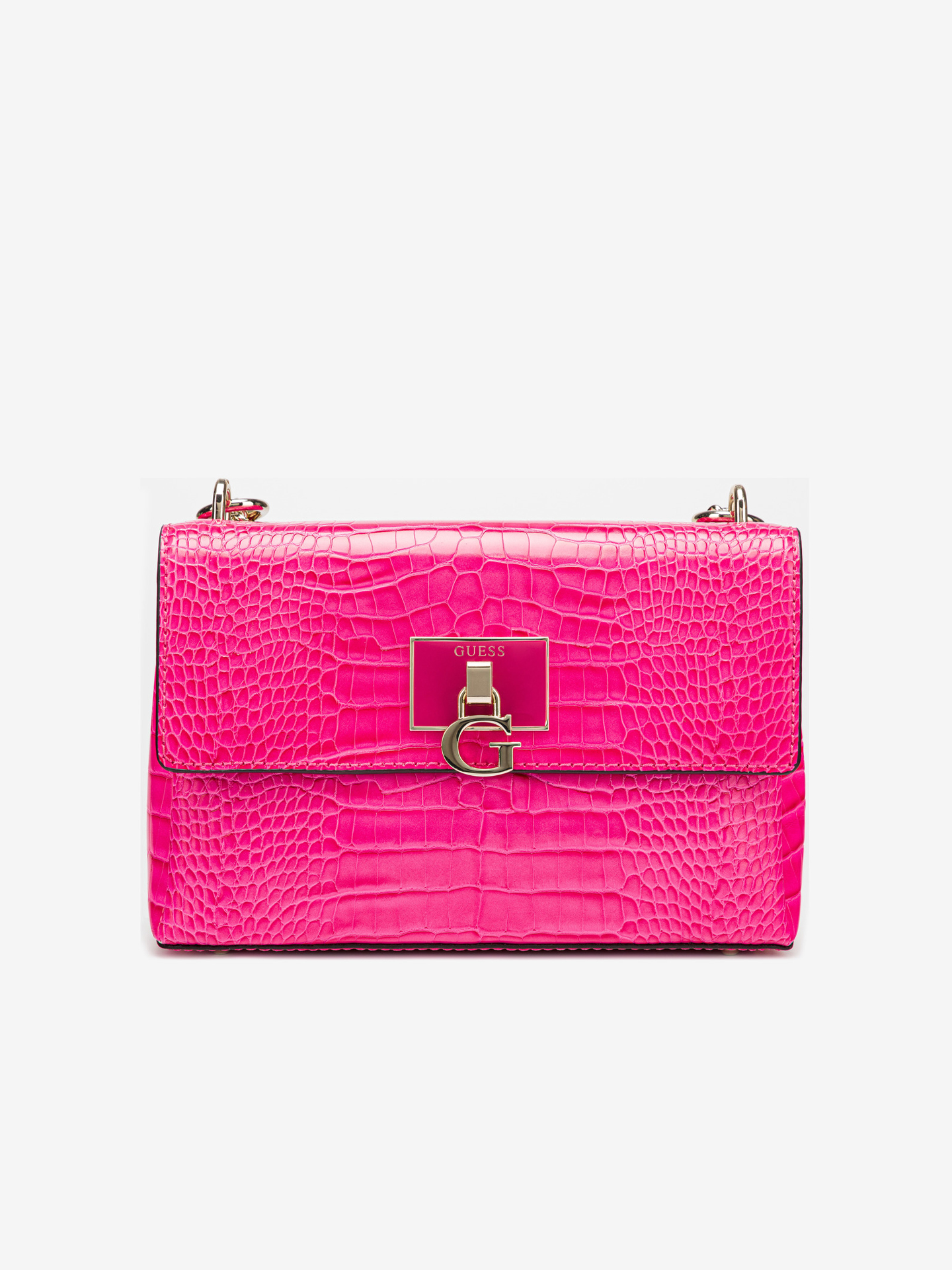 Guess pink crossbody handbag Carabel