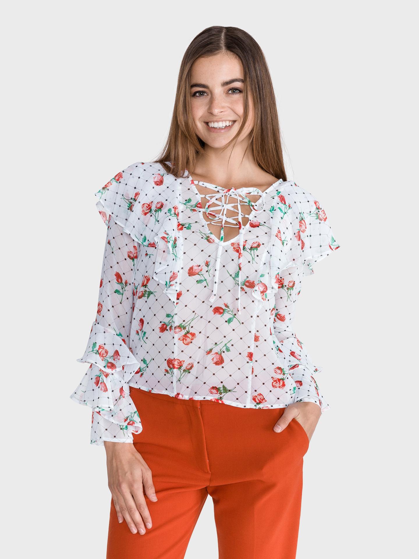 Guess Women's blouse white Halenka