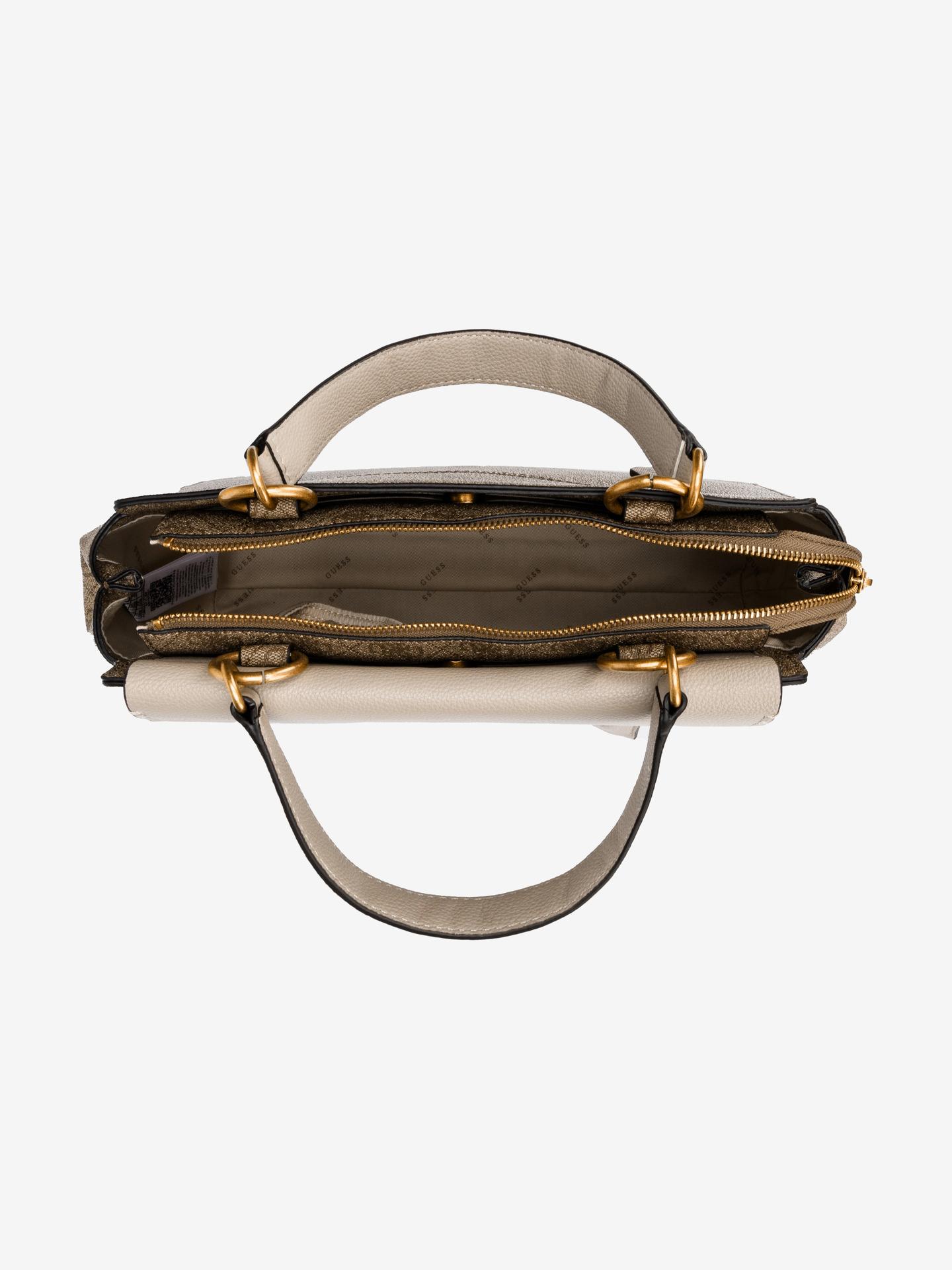 Guess brown handbag Valy Large