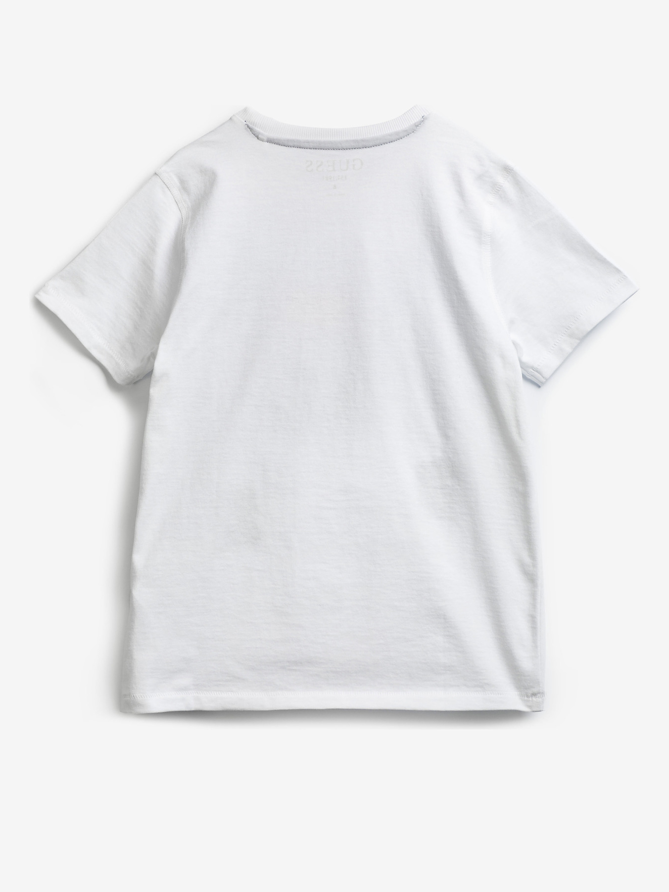 Guess Embroidery Front Logo Kids T-shirt White