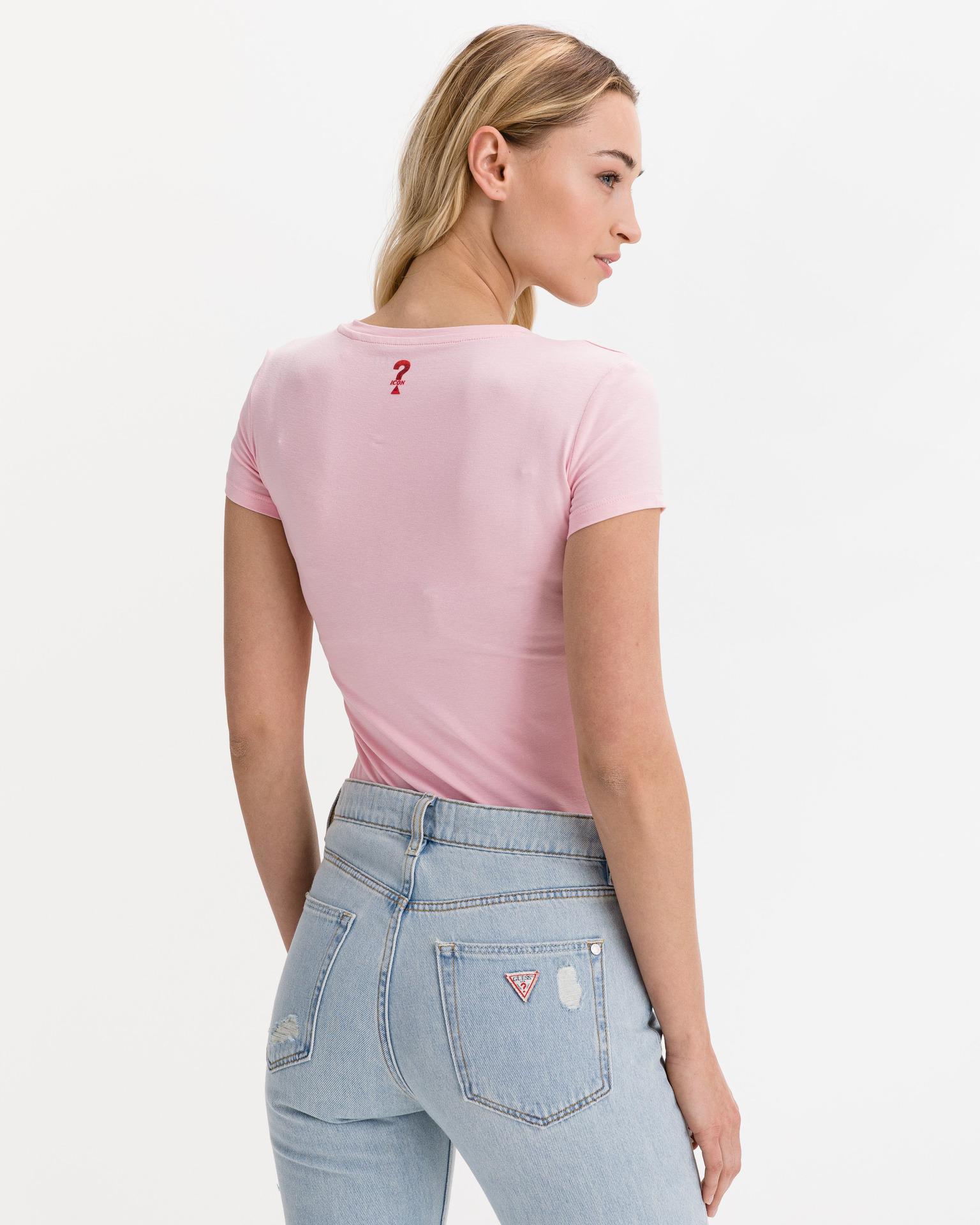 Guess pink T-shirt Mini Triangle