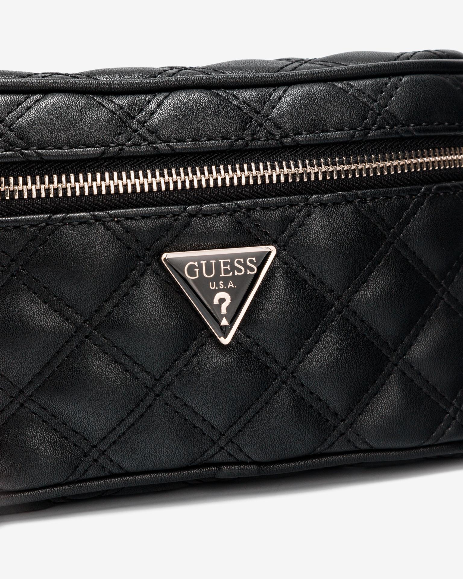 Guess black bum bag Cessily