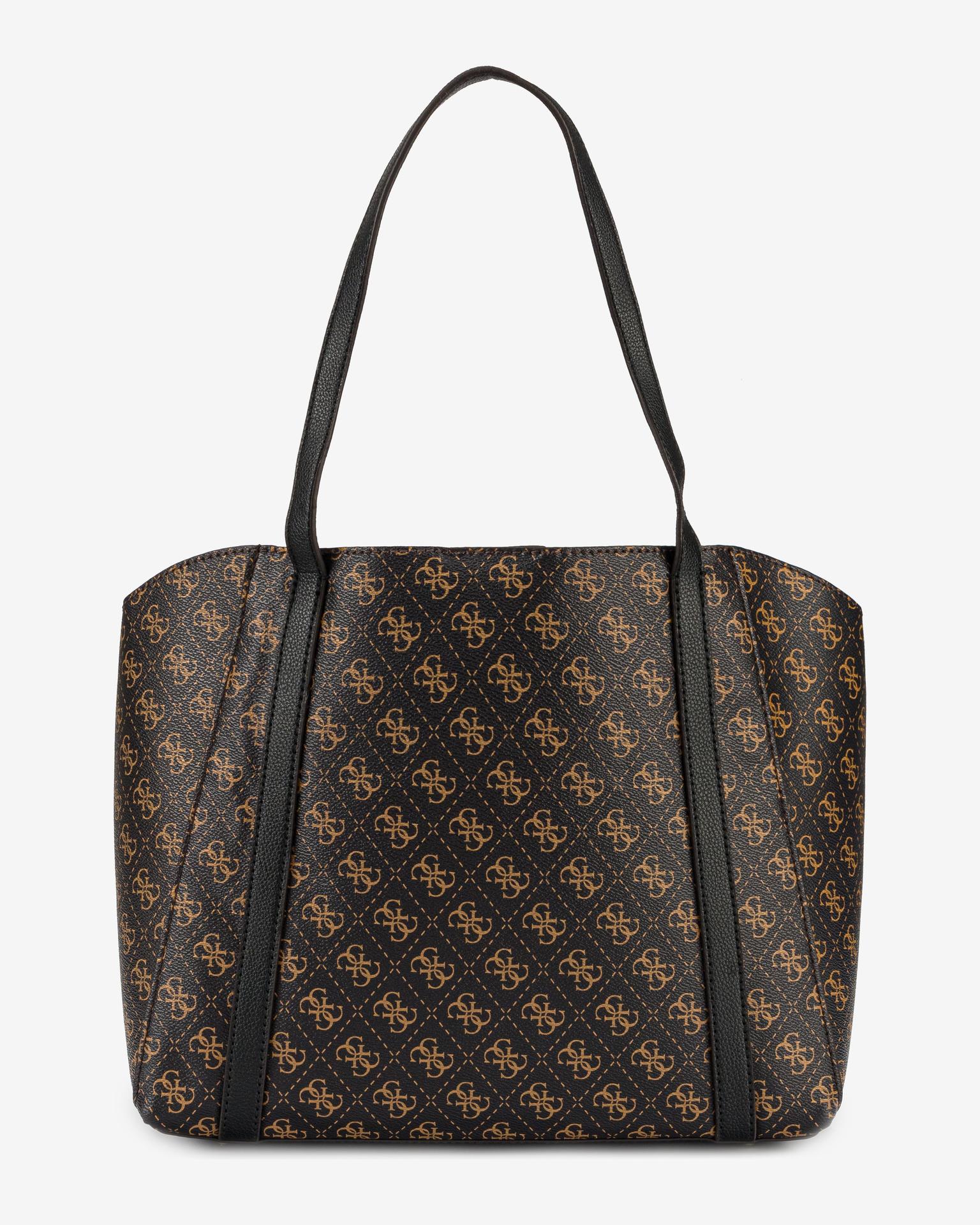 Guess brown handbag Naya Trap