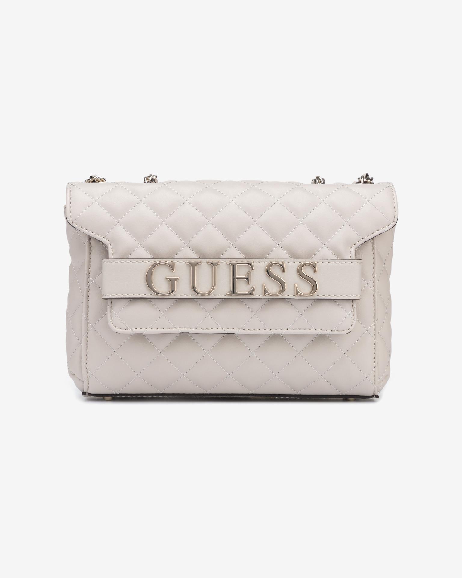 Guess grey crossbody handbag Illy Convertibe