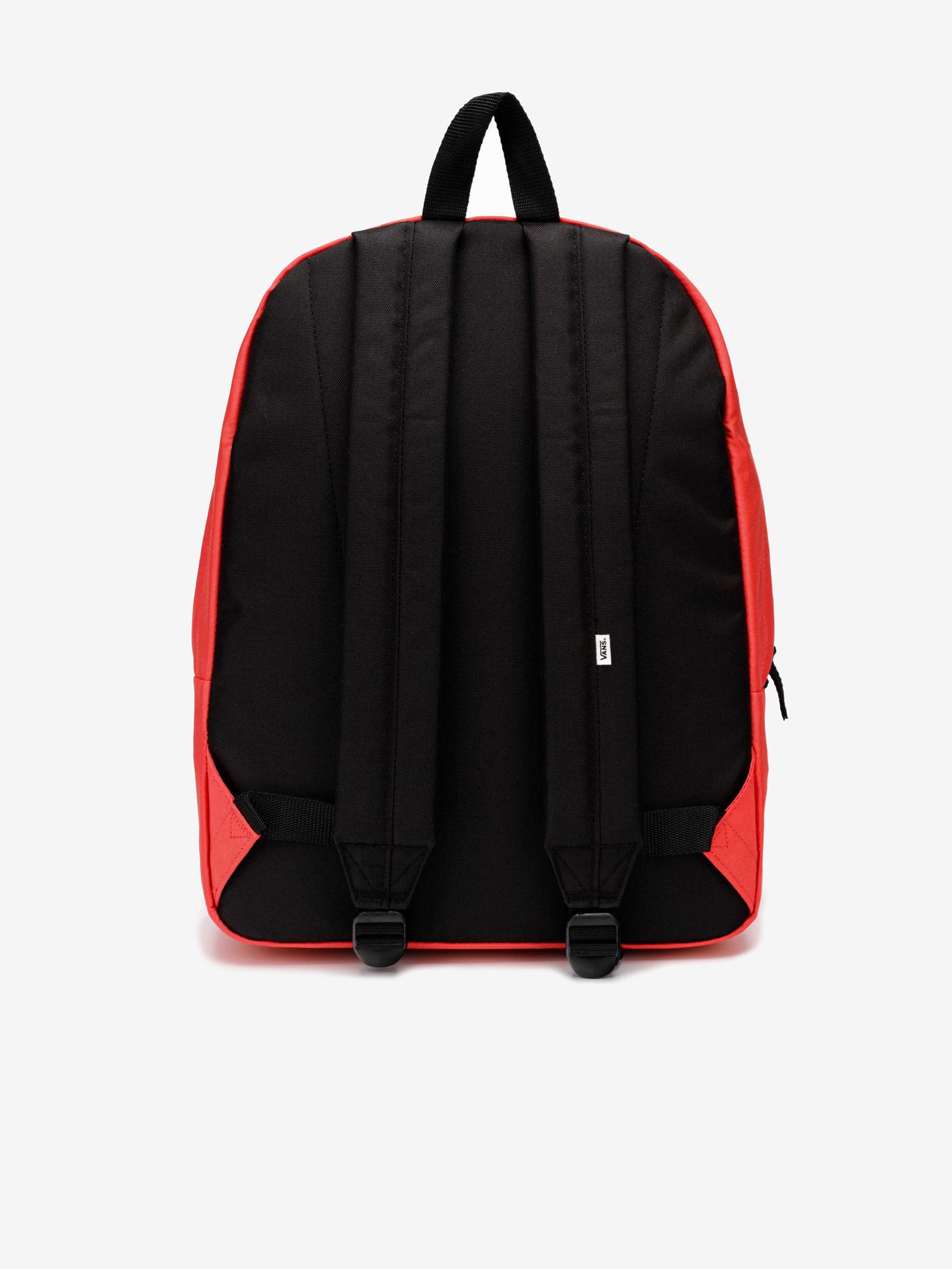 Vans red backpack Realm
