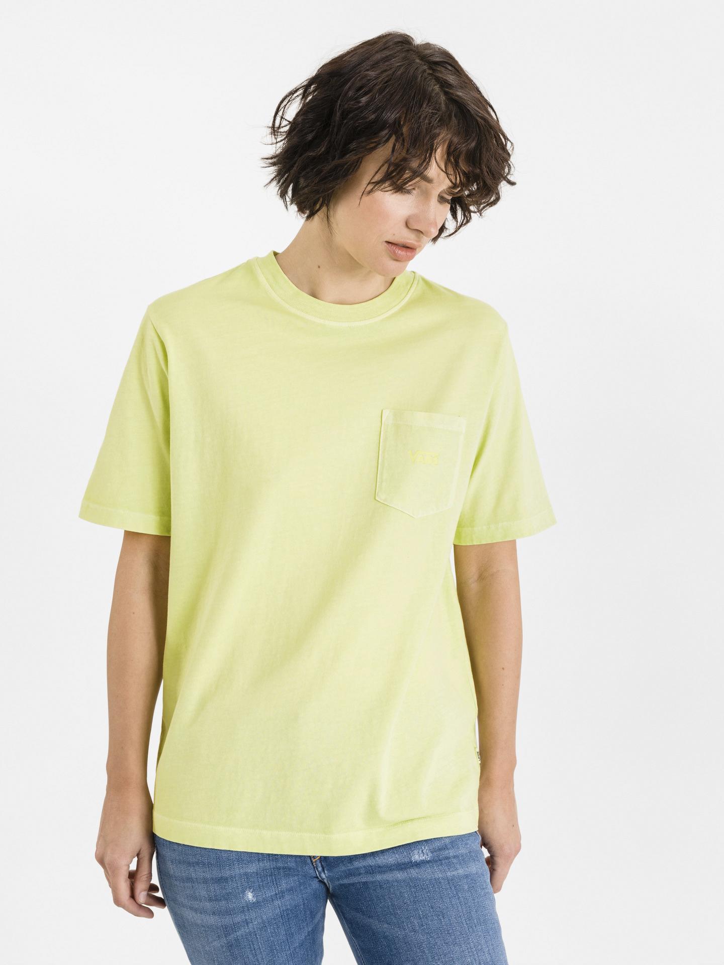 Vans yellow T-shirt Pocket V