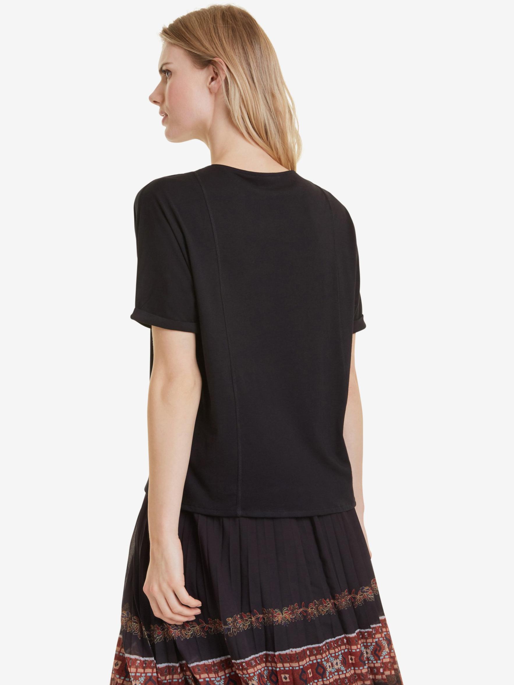 Desigual Women's t-shirt black Triko