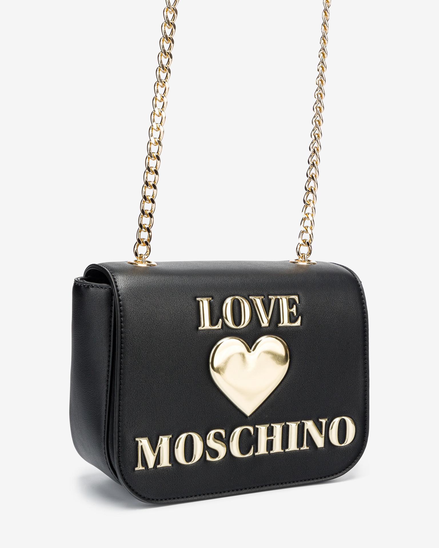 Love Moschino black crossbody handbag