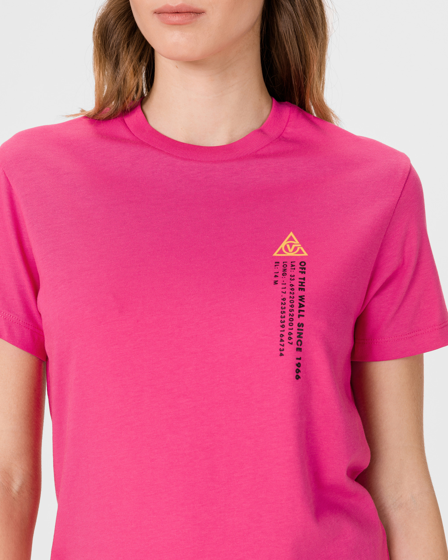Vans pink T-shirt 66 Supply