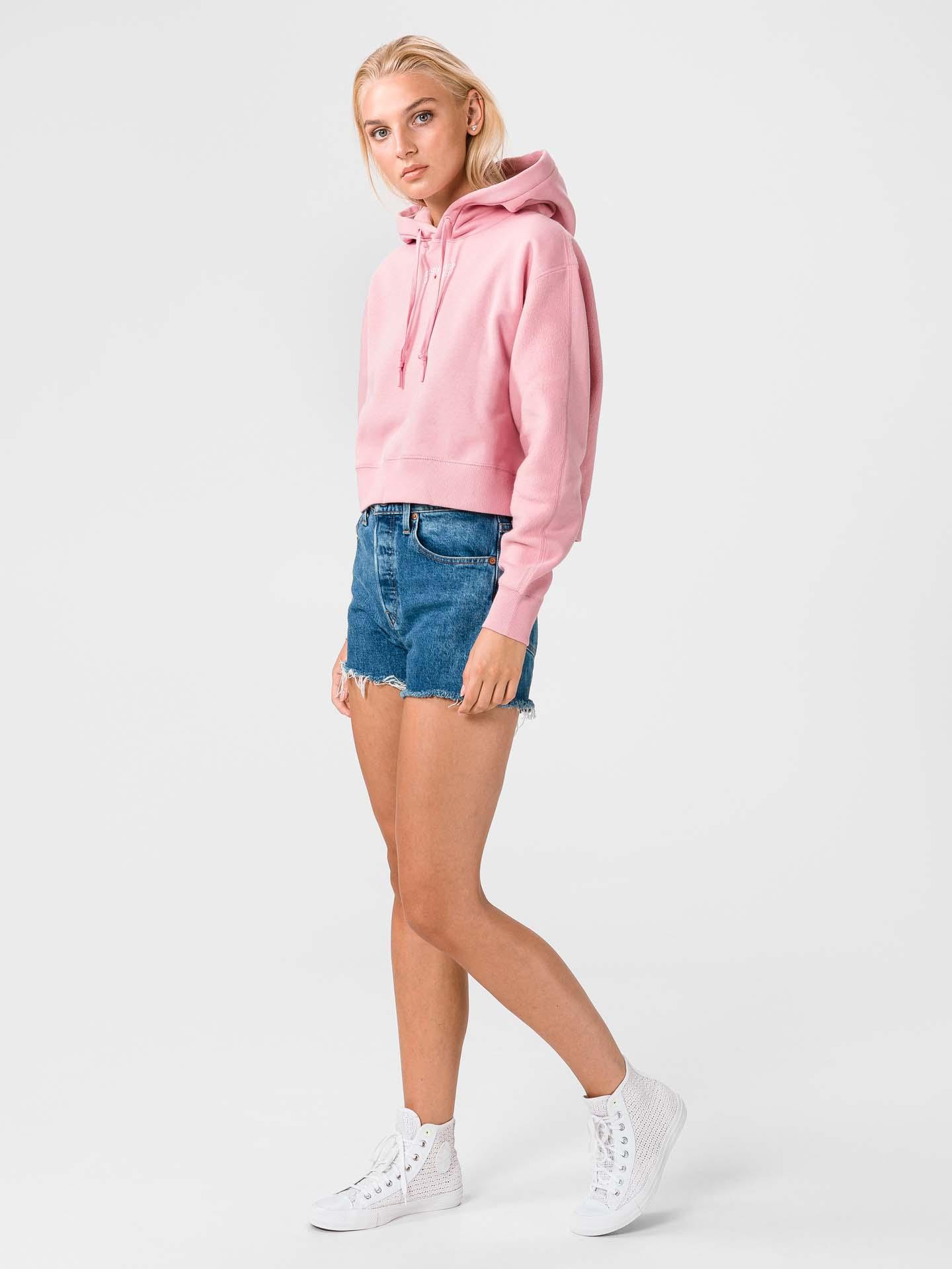 Converse All Star Crop top Pink