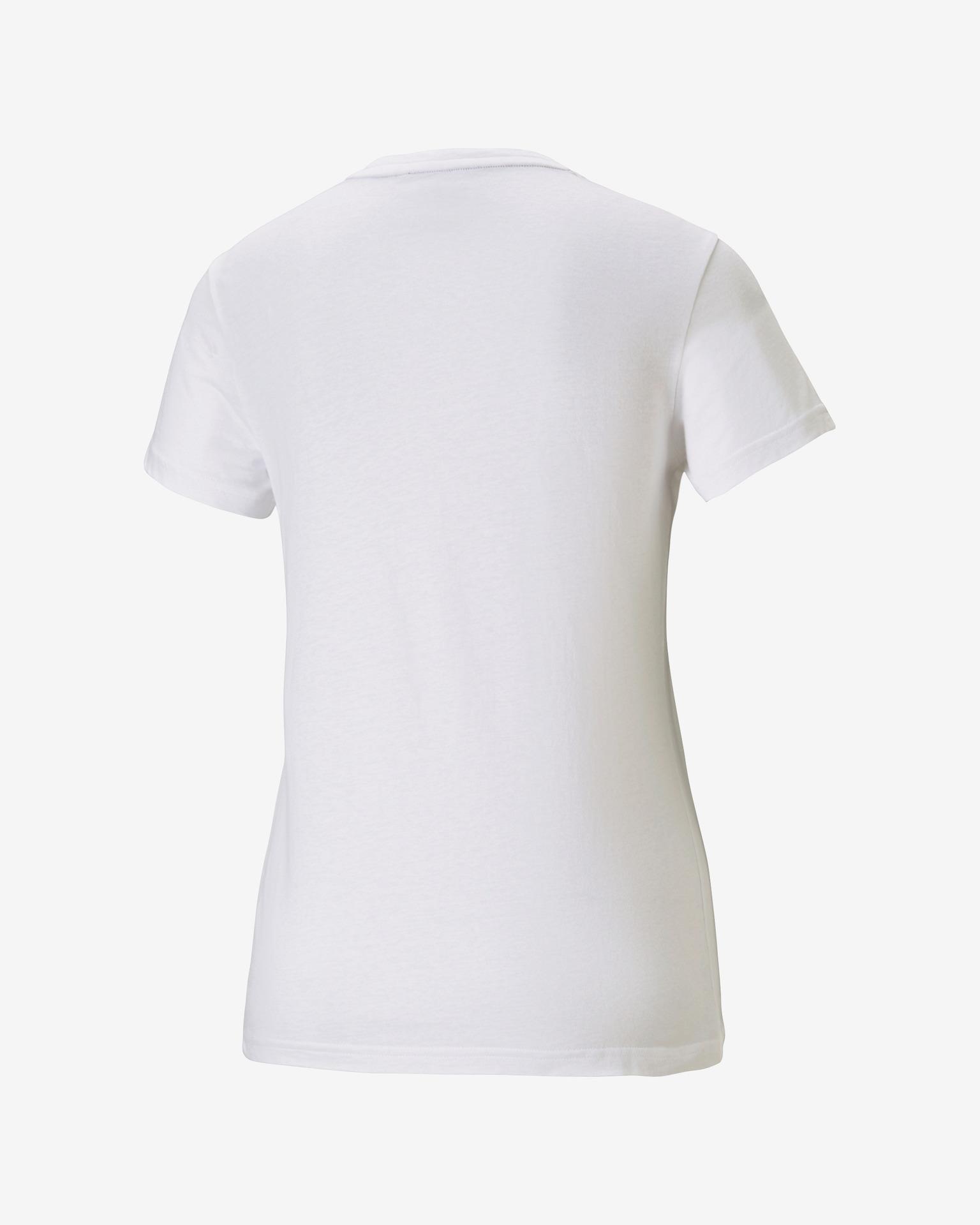Puma white women´s T-shirt Heart